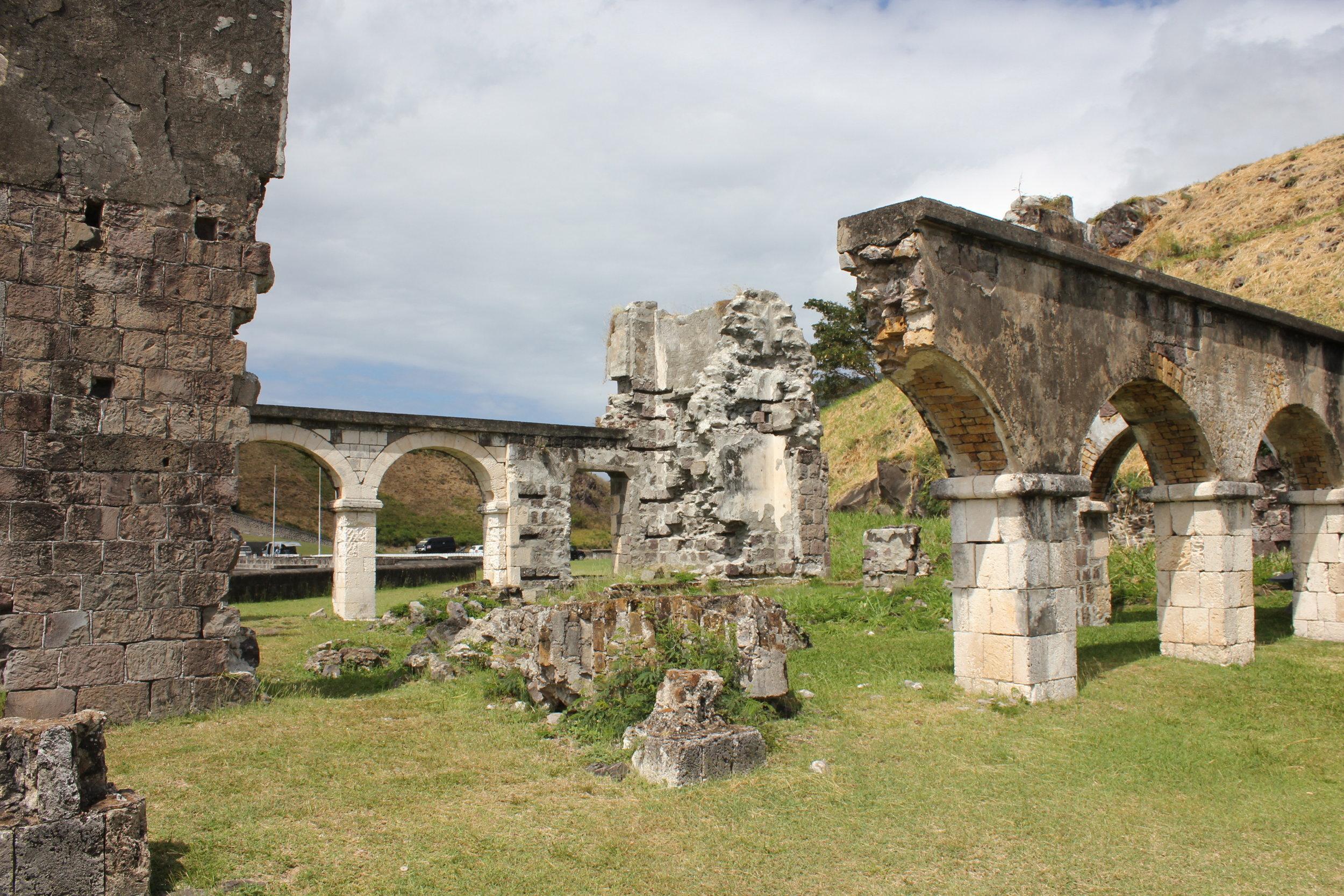 Brimstone Hill Fortress National Park – Ruins