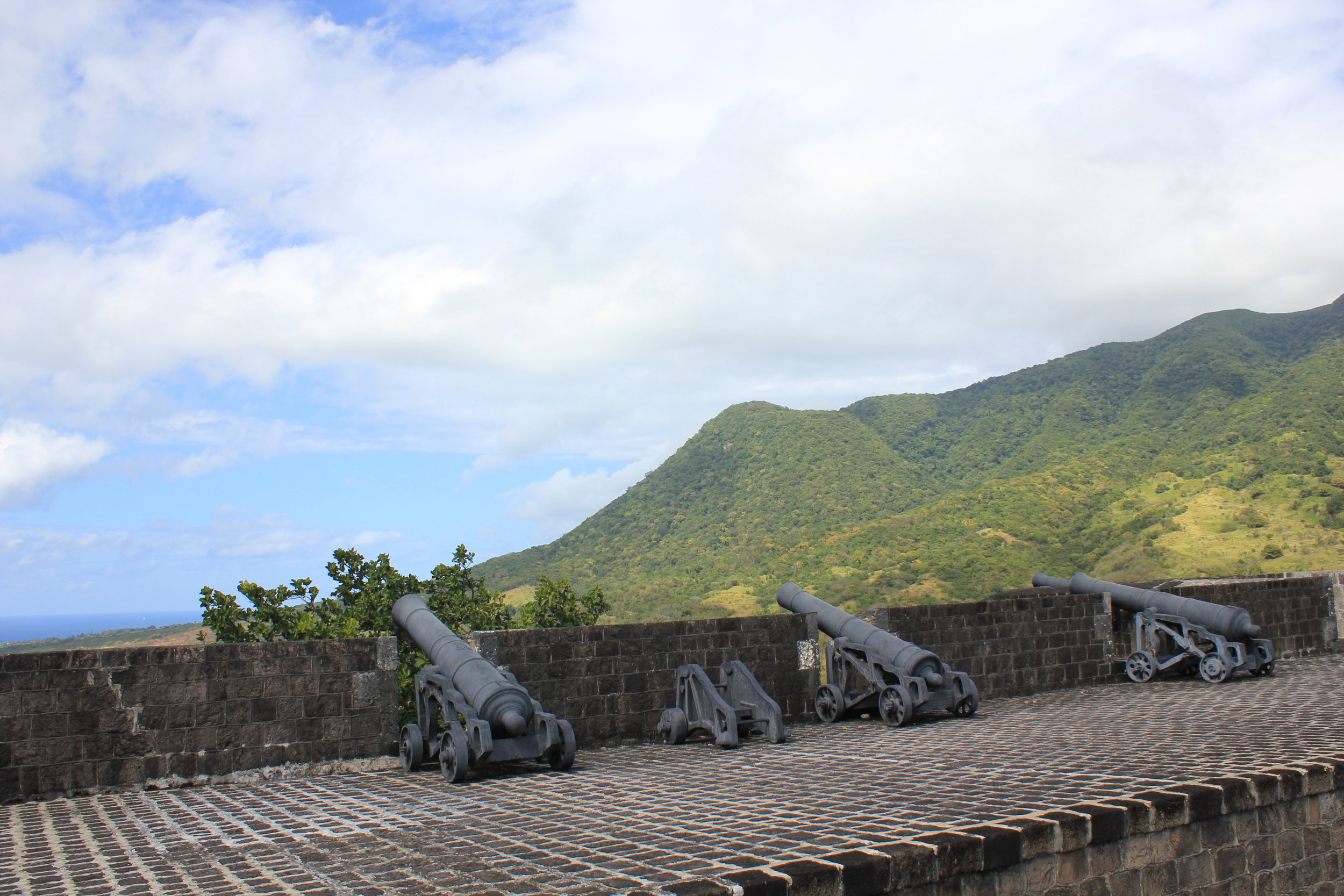 Brimstone Hill Fortress National Park – Artillery