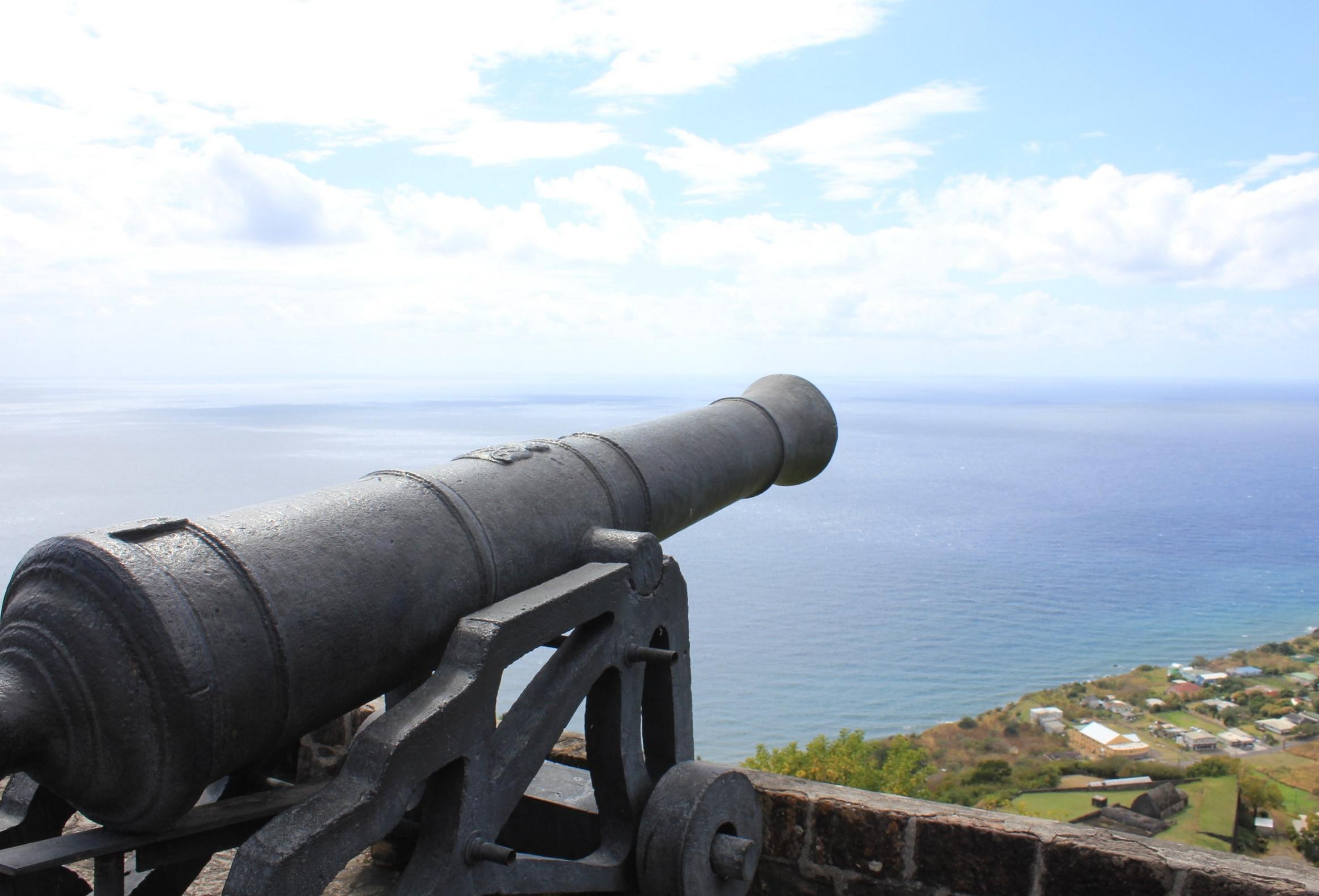 Brimstone Hill Fortress National Park – Cannon