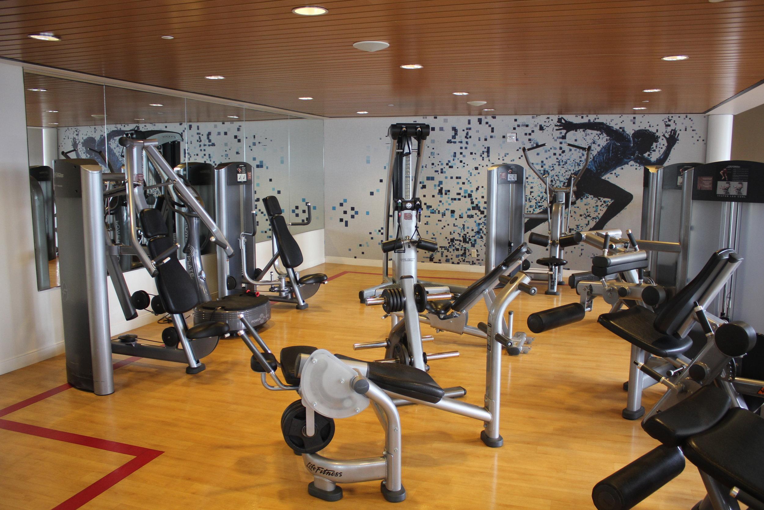 Sheraton Seattle – Fitness equipment
