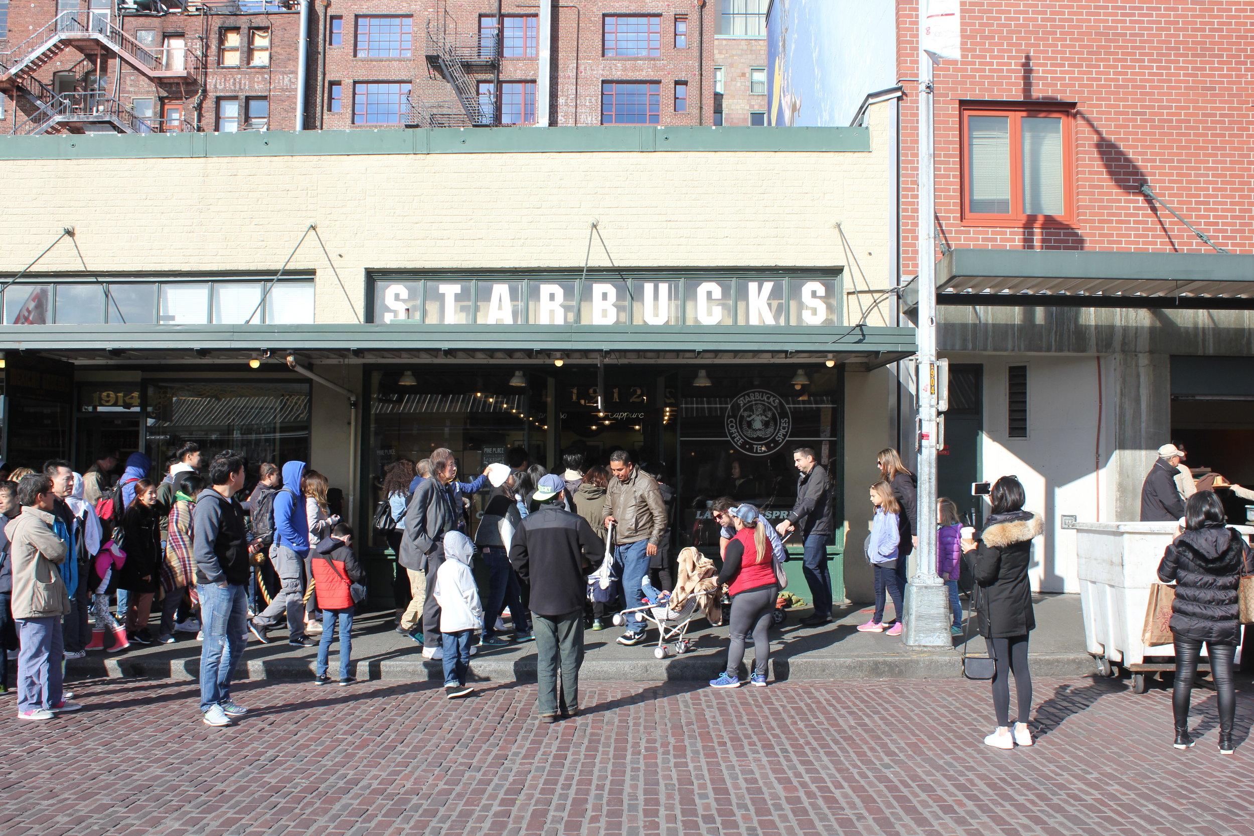 Pike Place Market – Original Starbucks