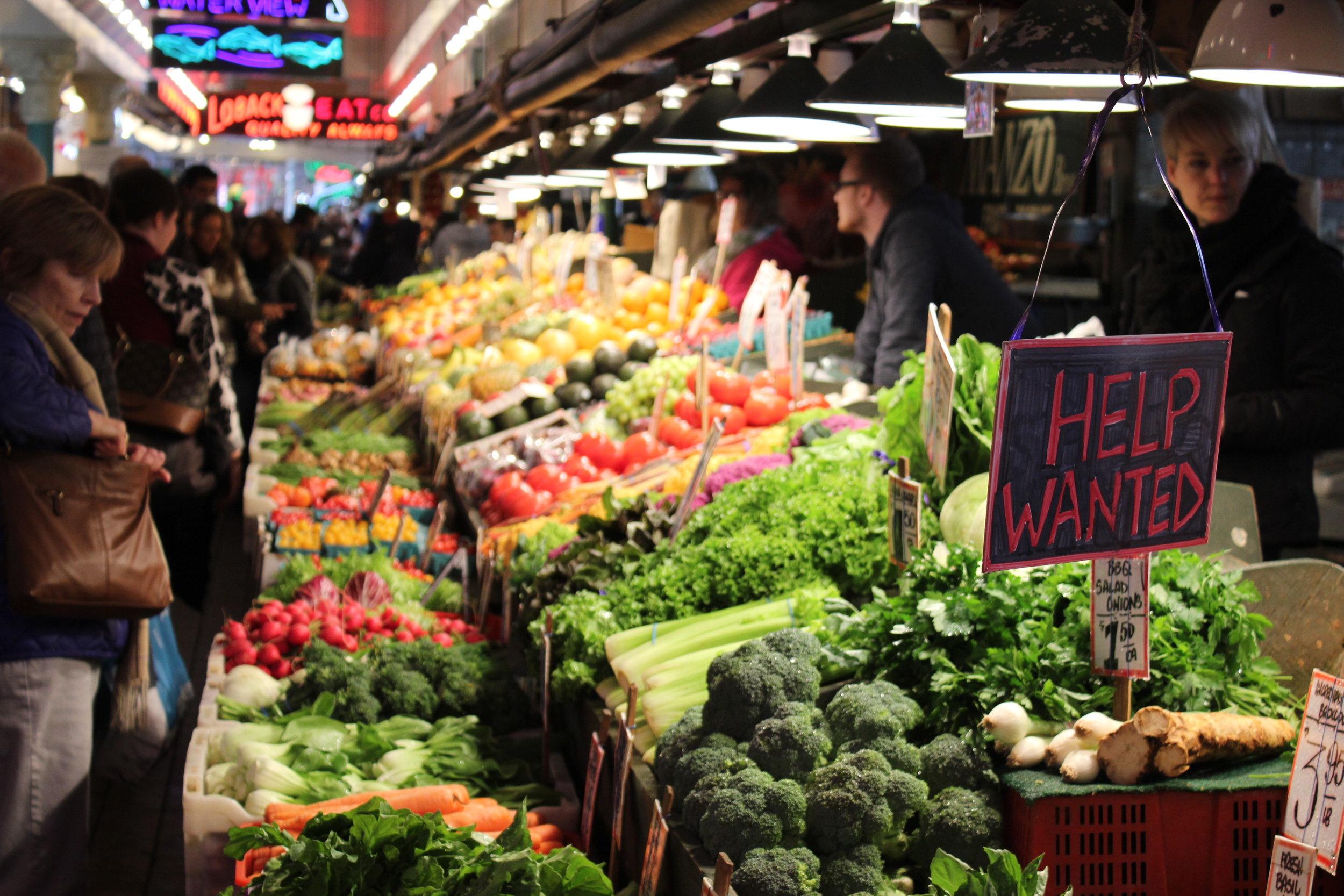 Pike Place Market – Fresh produce
