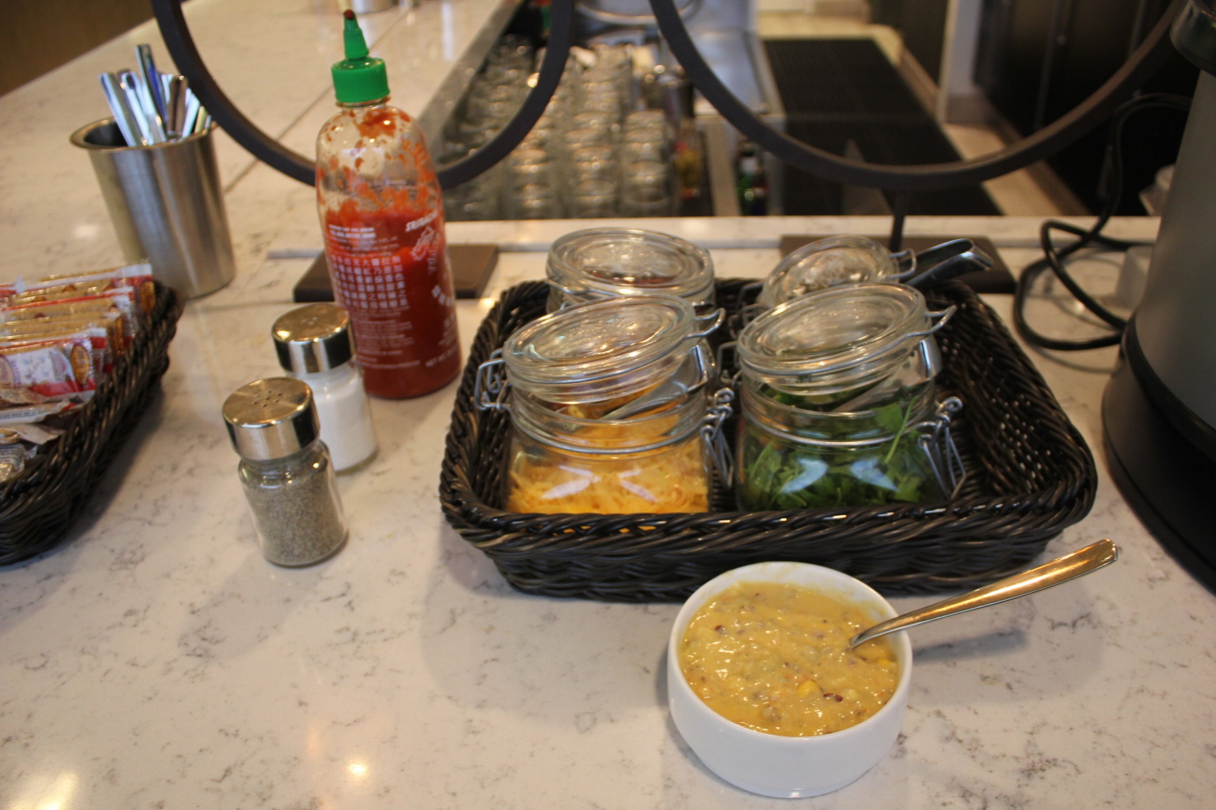 United Club Seattle – Mexican chicken tequila soup