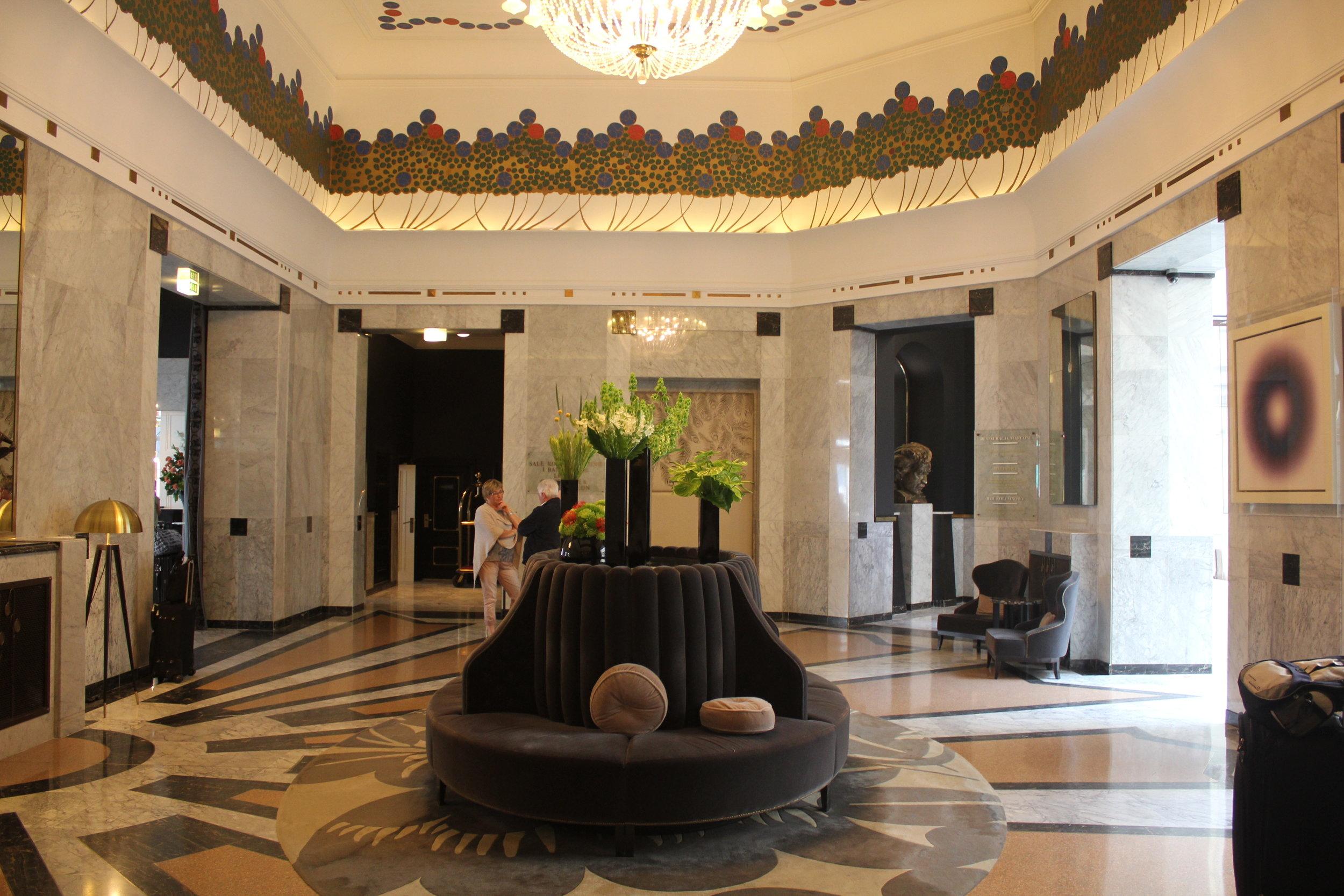 Hotel Bristol Warsaw – Lobby