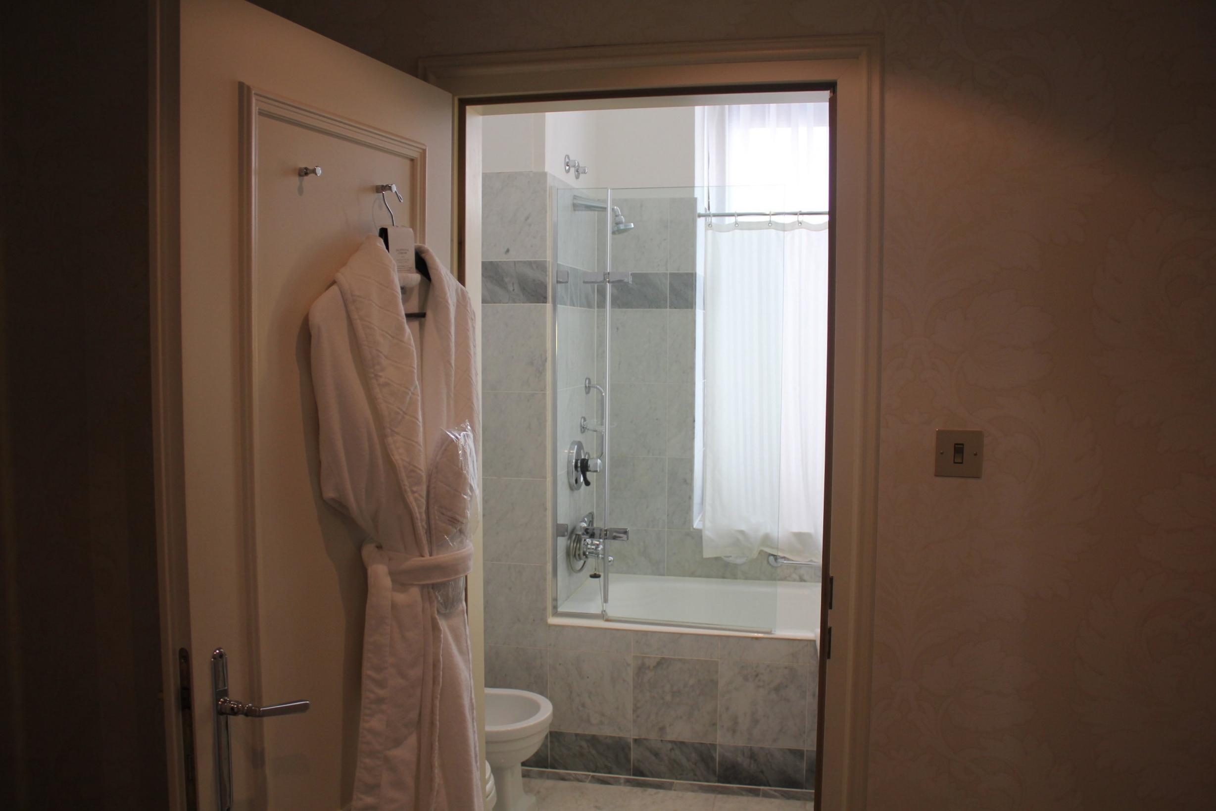Hotel Bristol Warsaw – Bathroom