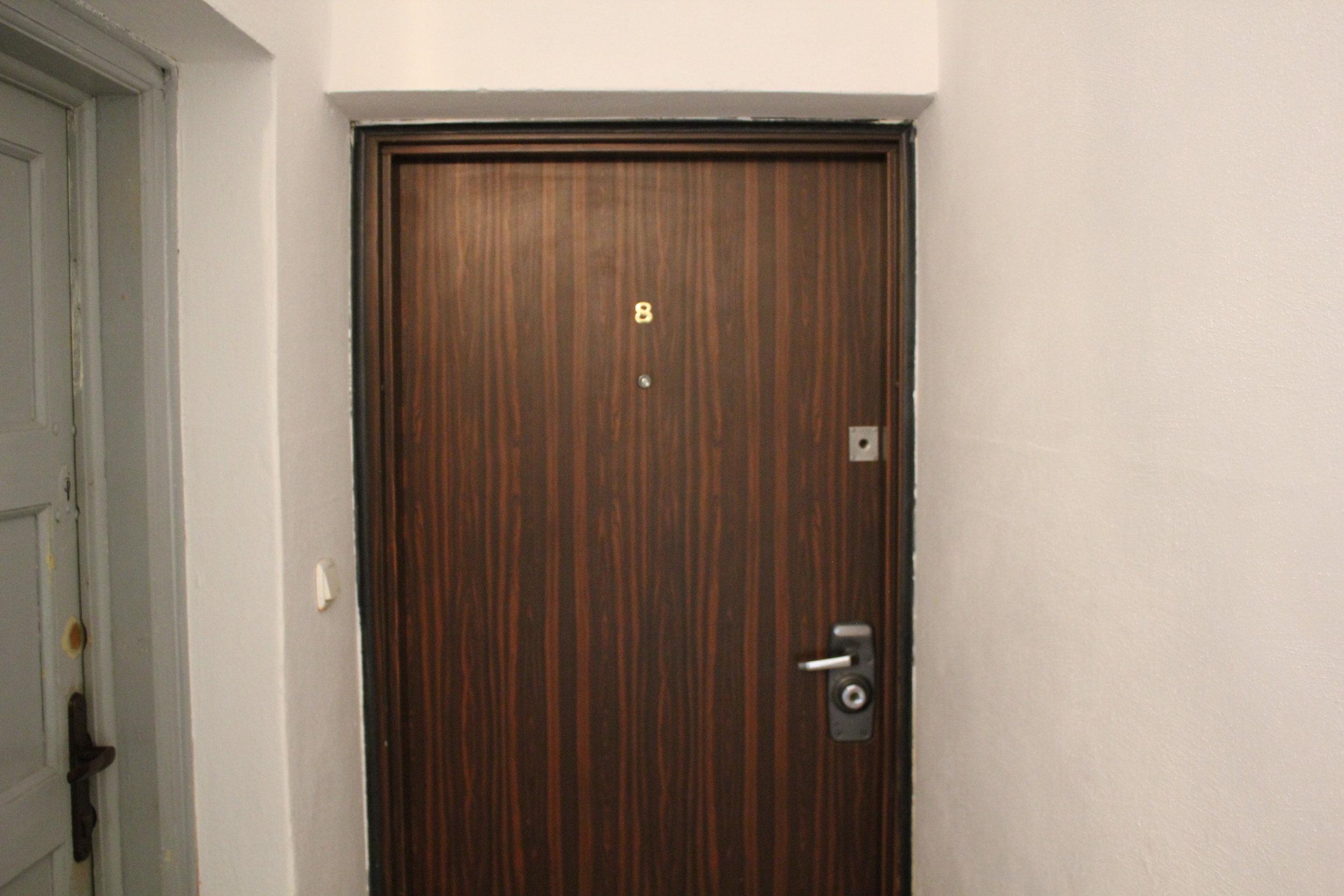 Apartament na Mariensztacie – Front door