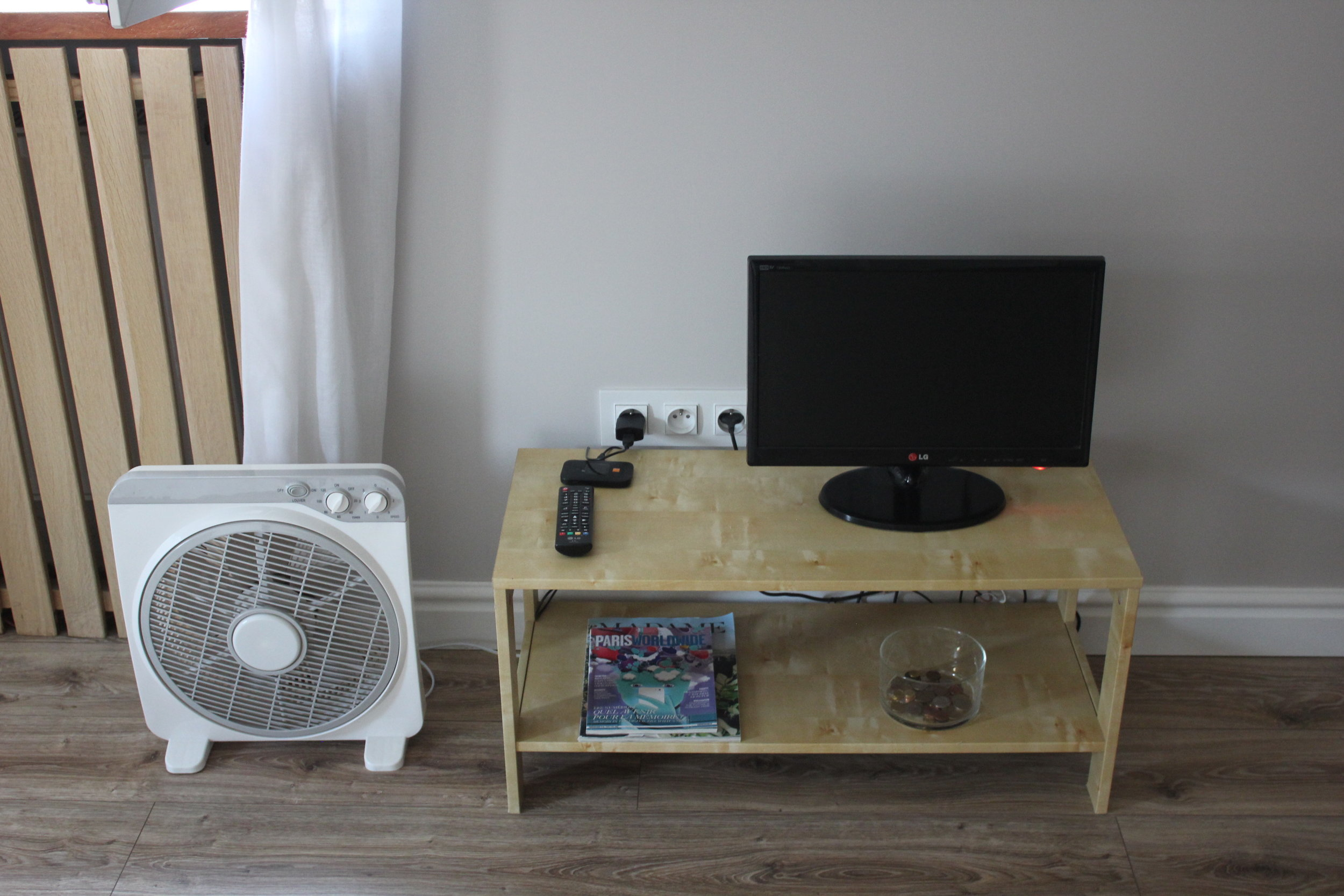 Apartament na Mariensztacie – TV set
