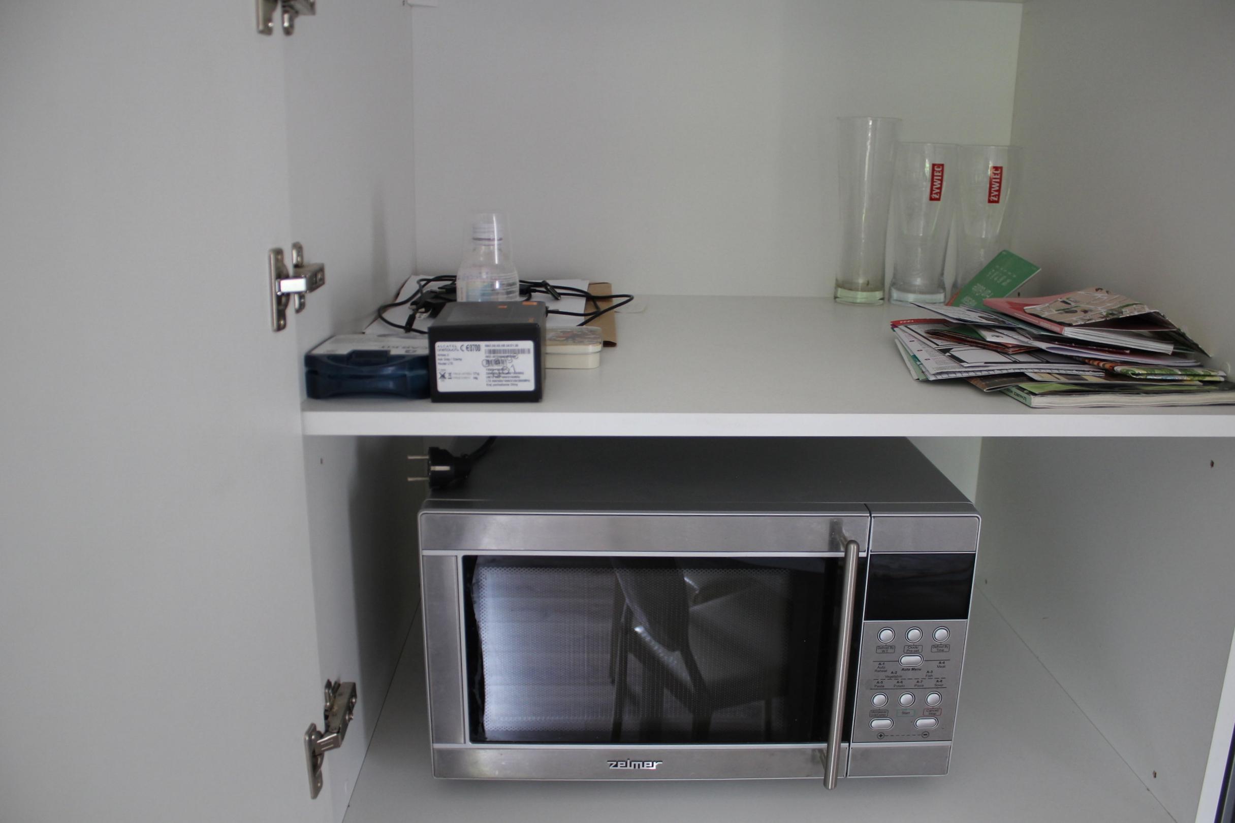 Apartament na Mariensztacie – Microwave