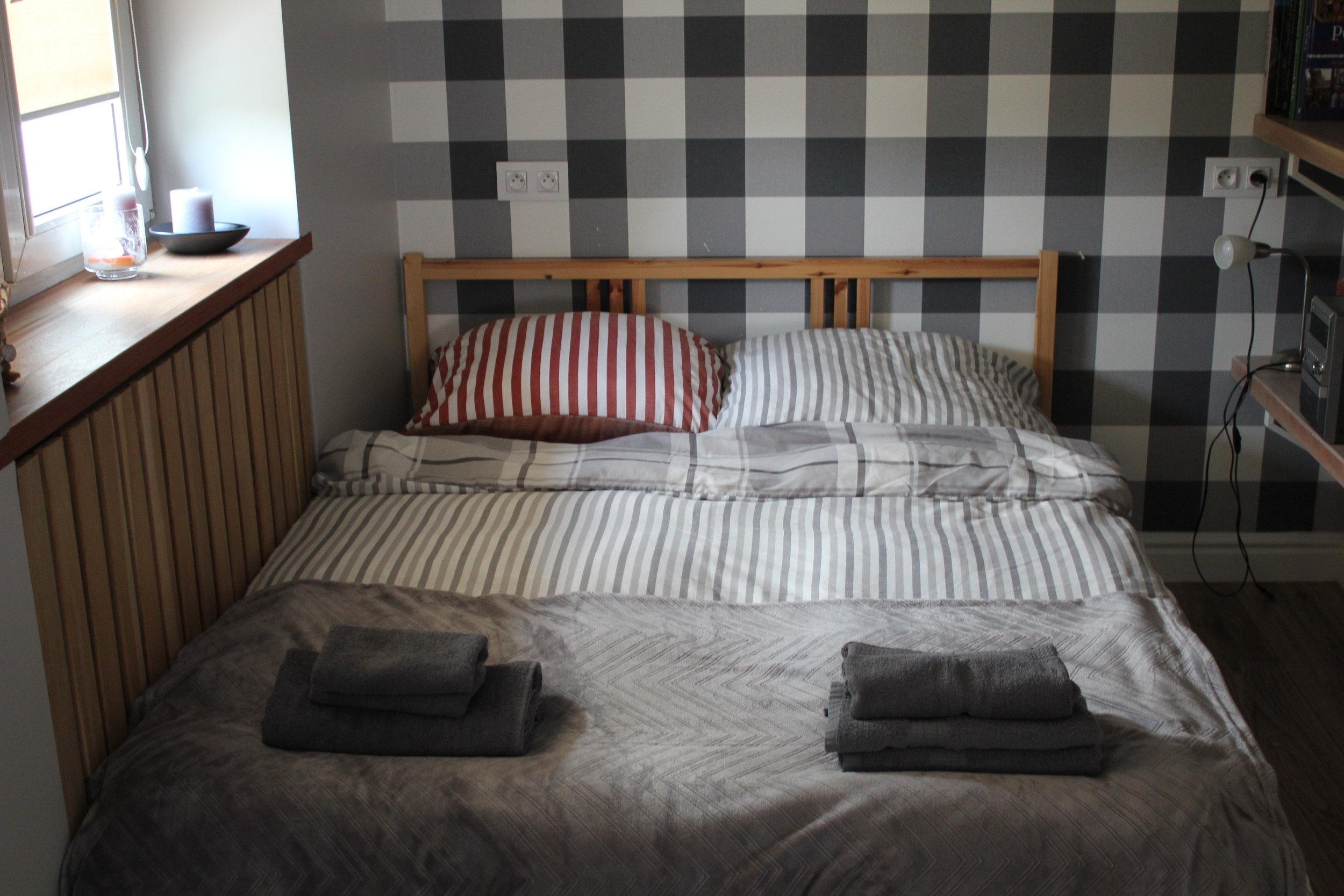 Apartament na Mariensztacie – Bed