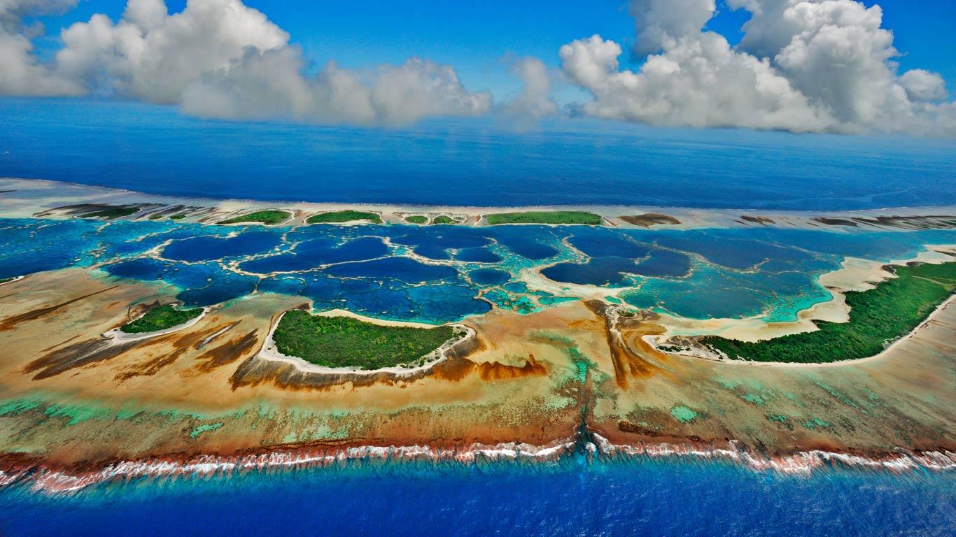 Caroline Island, Kiribati