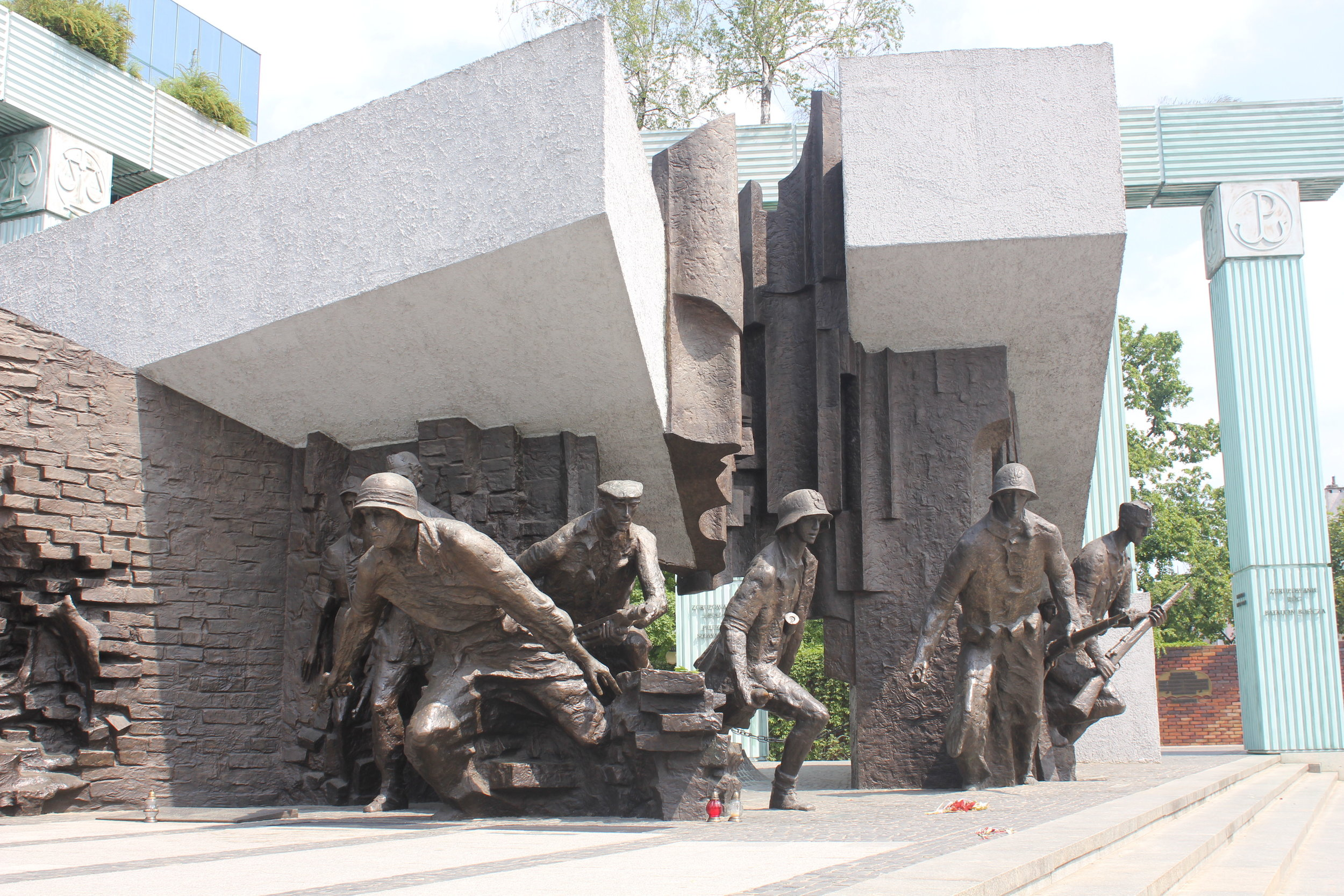 Warsaw – Warsaw Uprising monument, Supreme Court of Poland