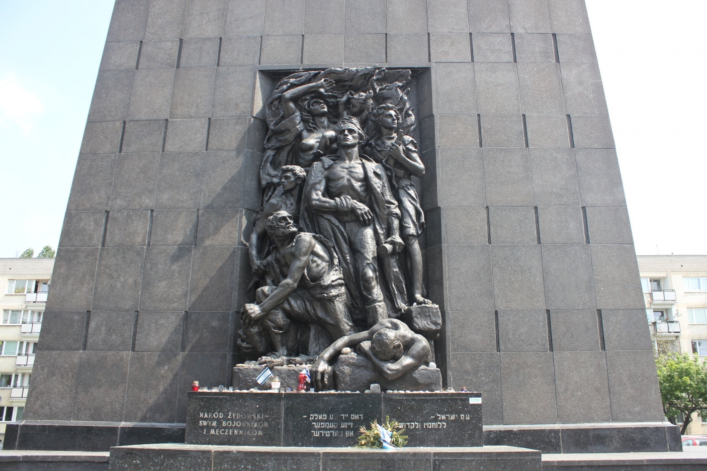 Warsaw – Monument to the Ghetto Heroes, POLIN Museum