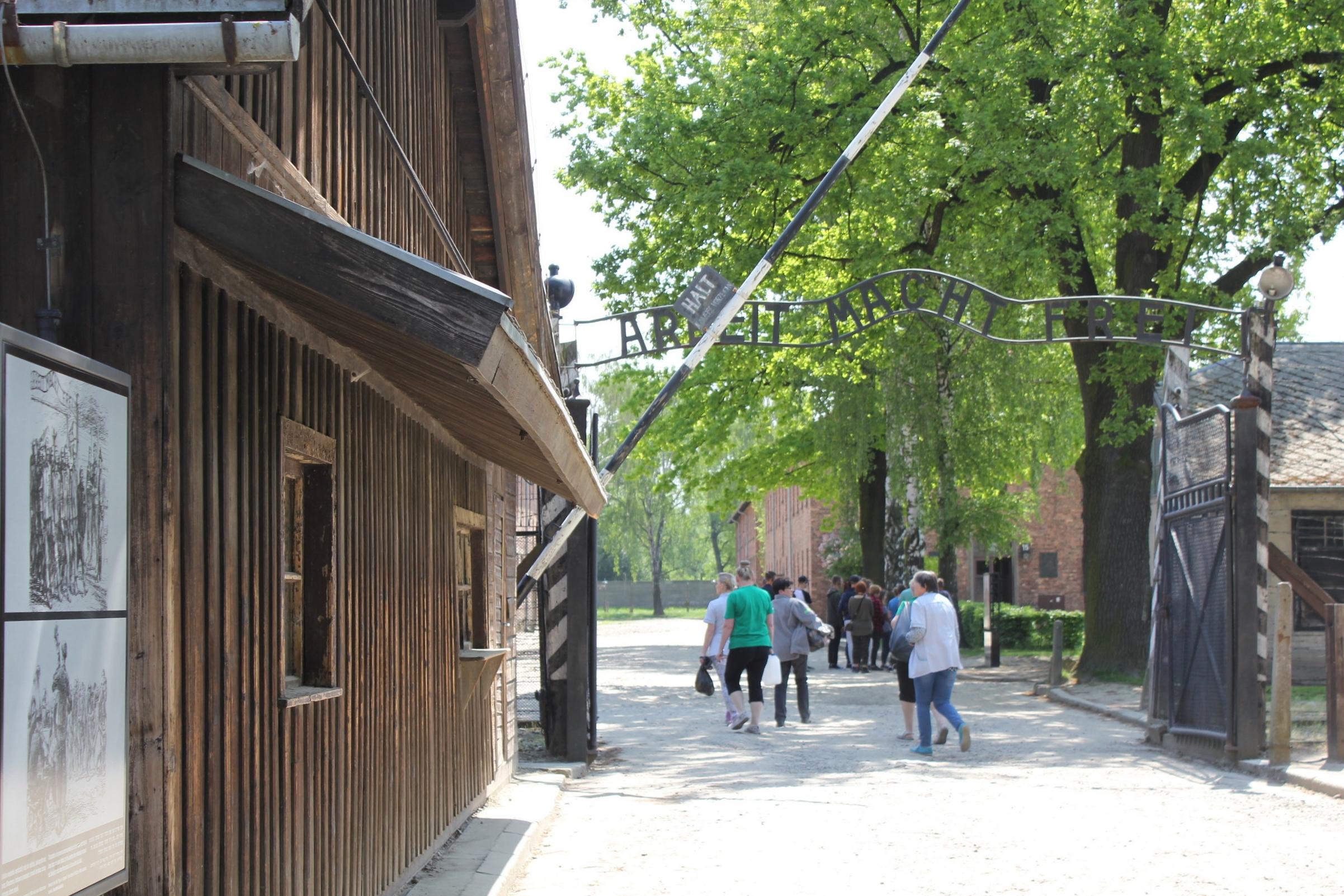 Auschwitz I – Main gate