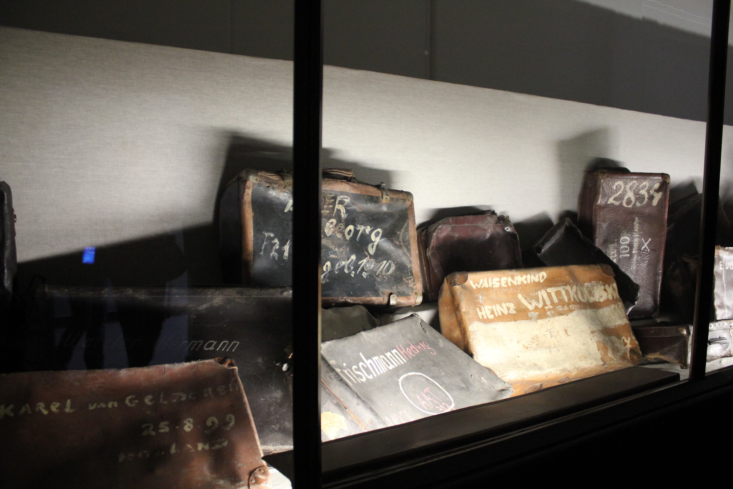 Victims' belongings