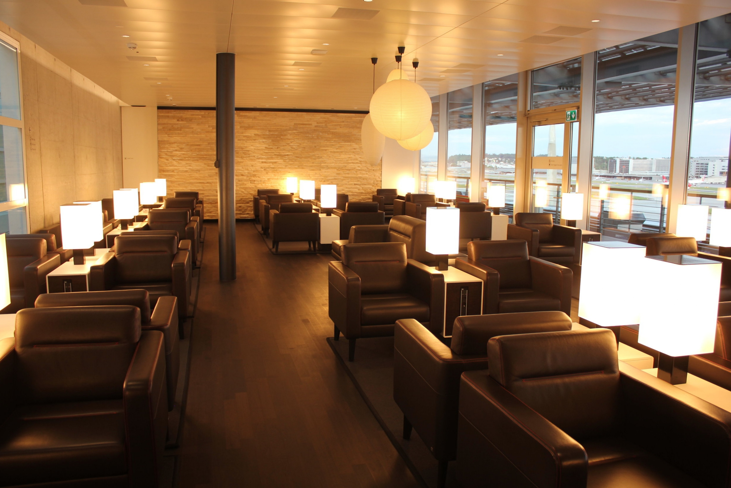 Swiss Business Lounge Zurich – Seating area