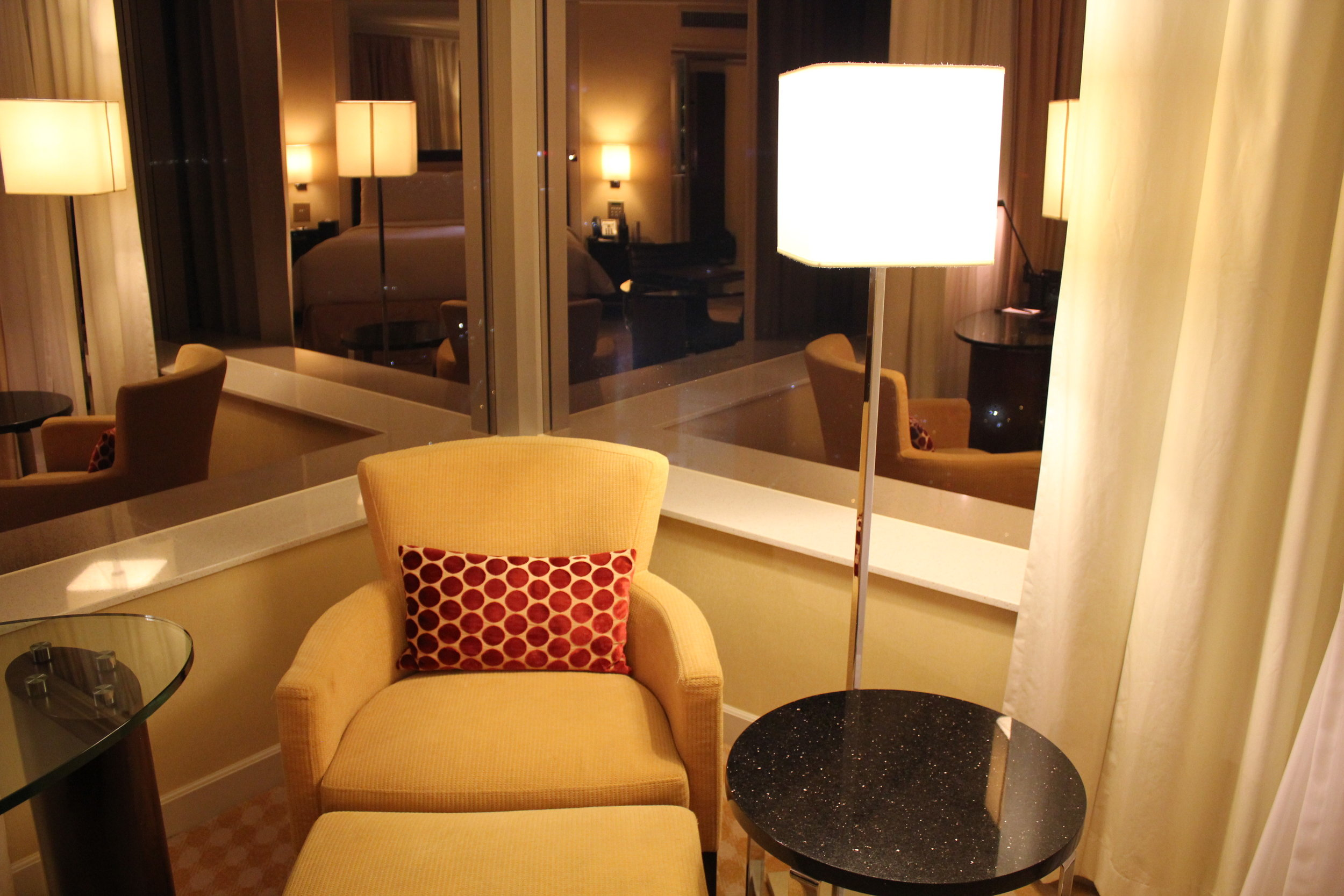 JW Marriott Hong Kong – Lounge chair