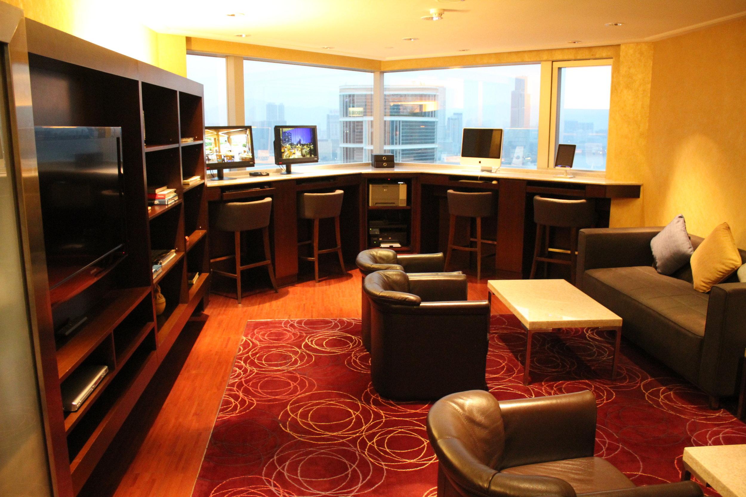 JW Marriott Hong Kong – Executive Lounge library