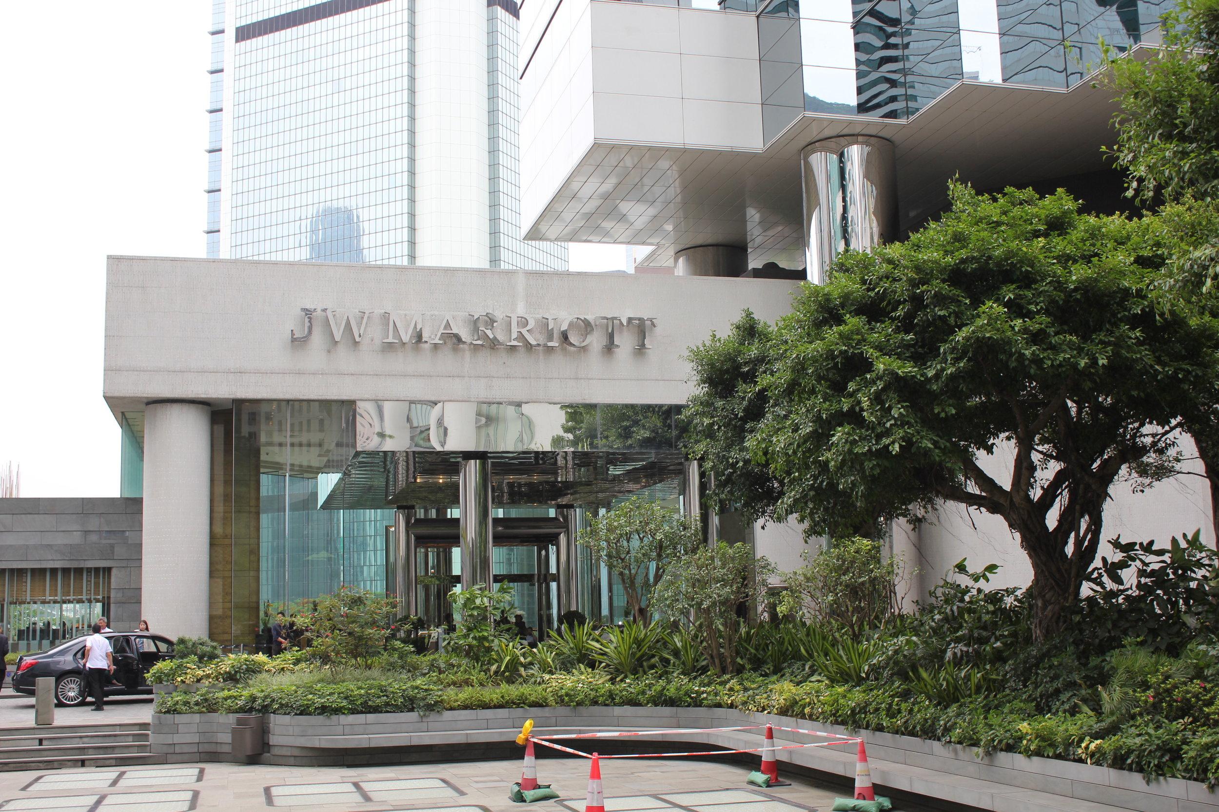 JW Marriott Hong Kong – Entrance