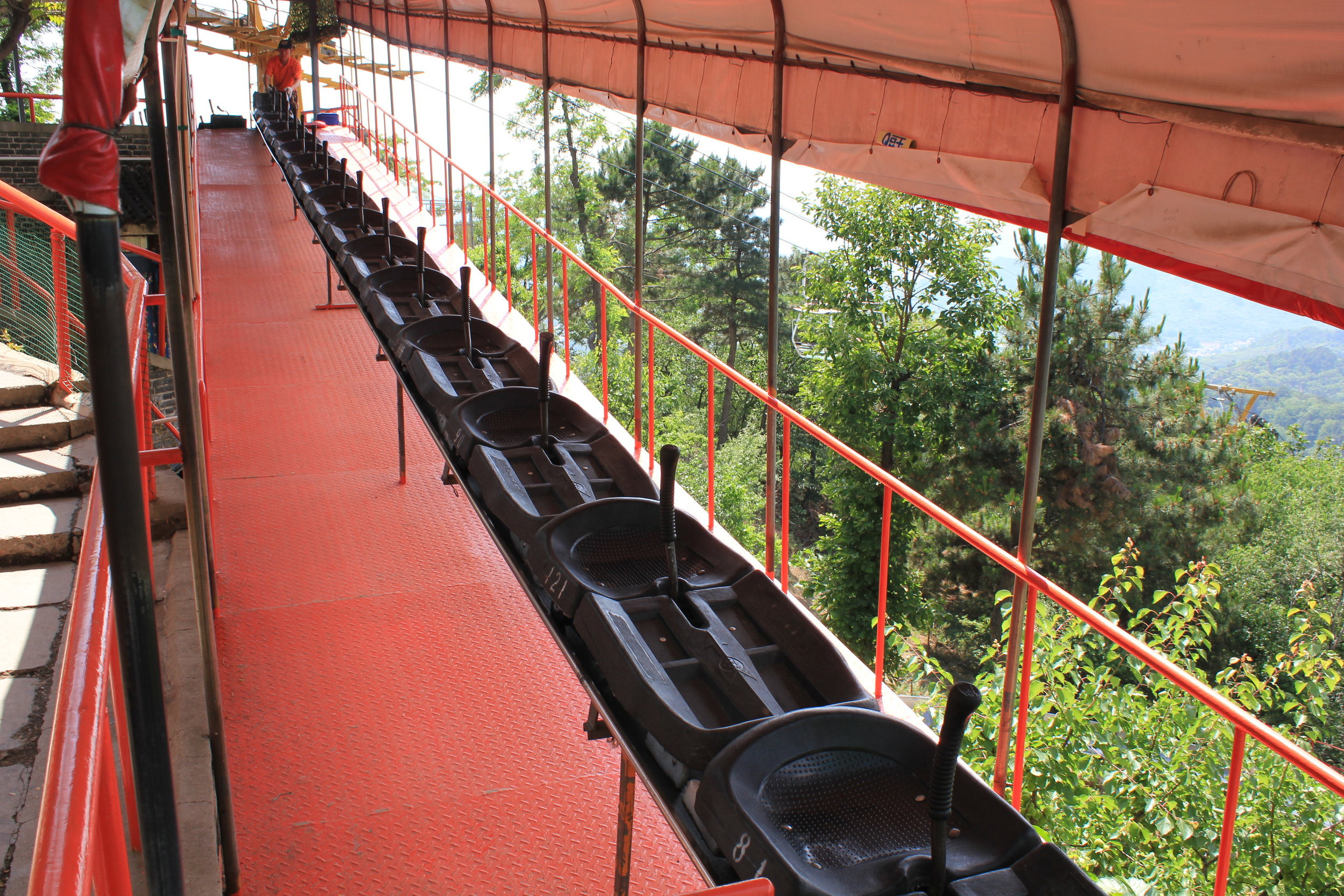 Mutianyu Great Wall – Toboggans