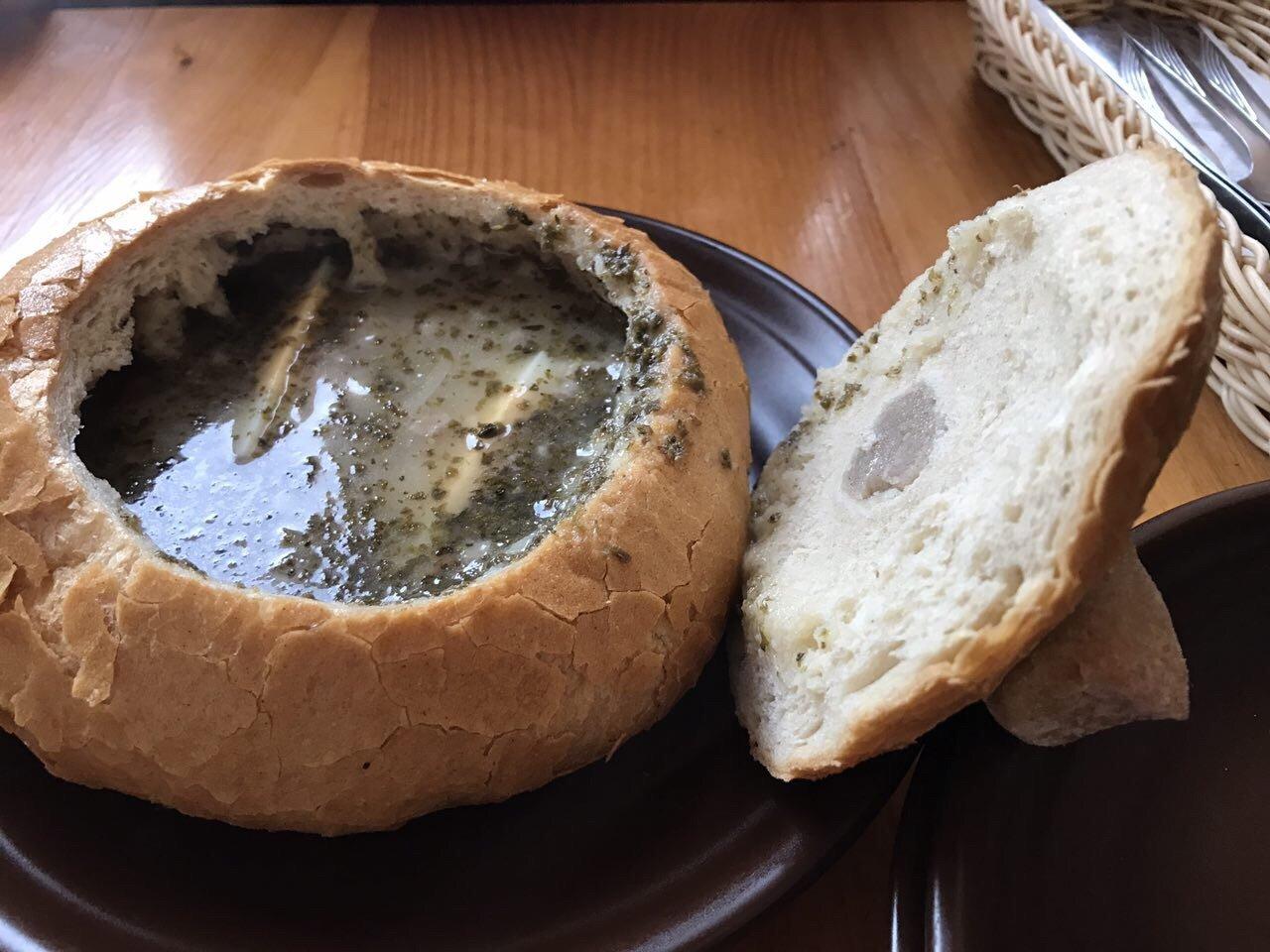 Gościniec – White sausage soup