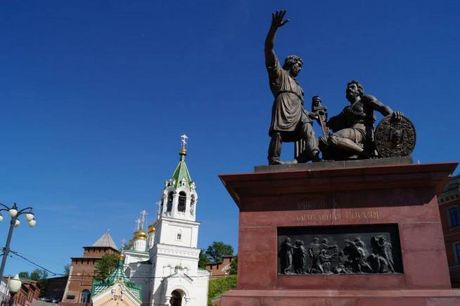 Minin and Pozharsky Square, Nizhny Novgorod   Prince of Travel   Travel Talk