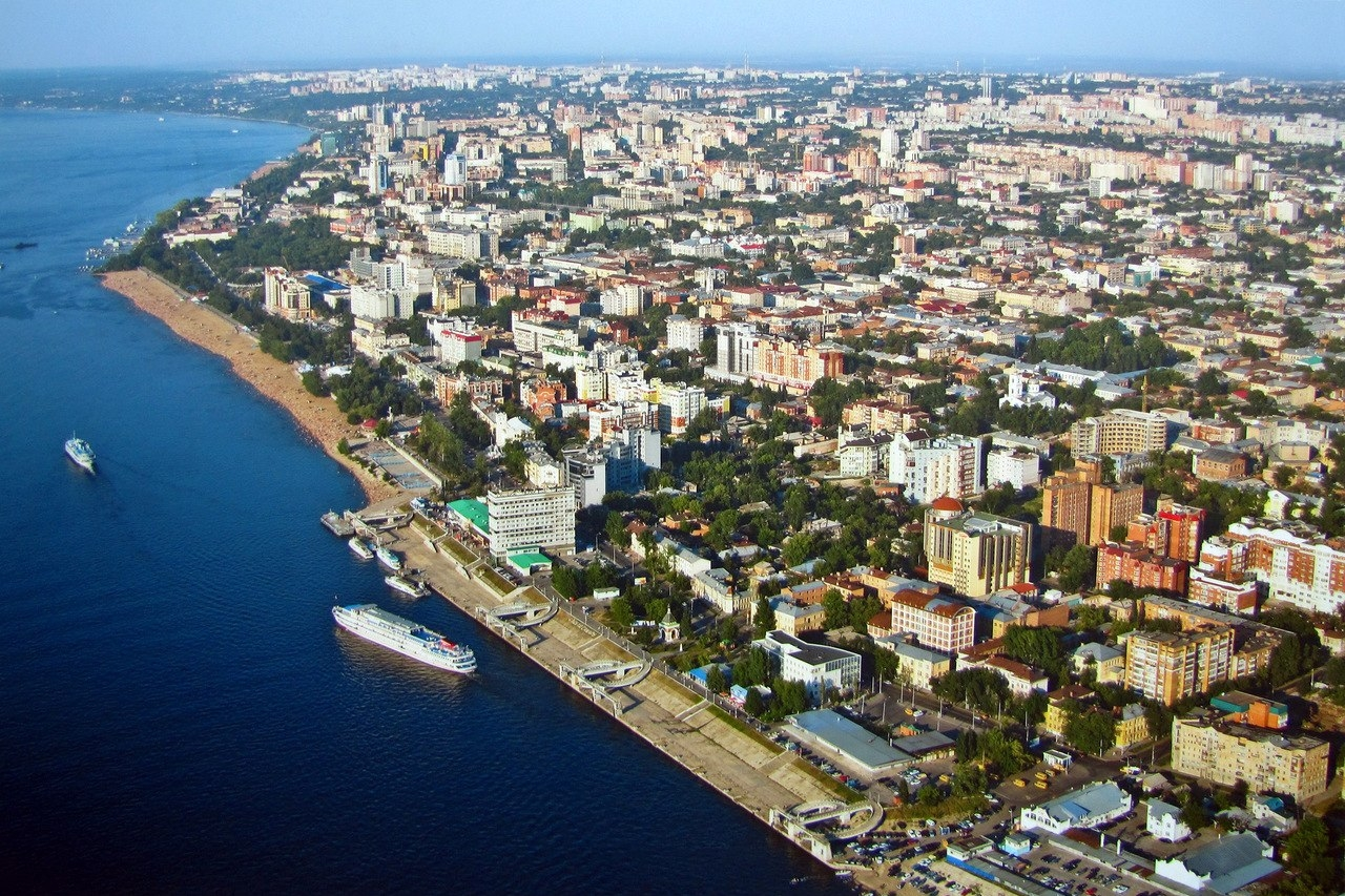 Samara Riverfront   Prince of Travel   Travel Talk