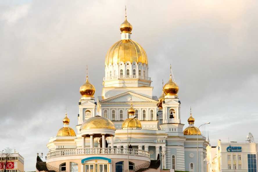 Saransk Cathedral   Prince of Travel   Travel Talk