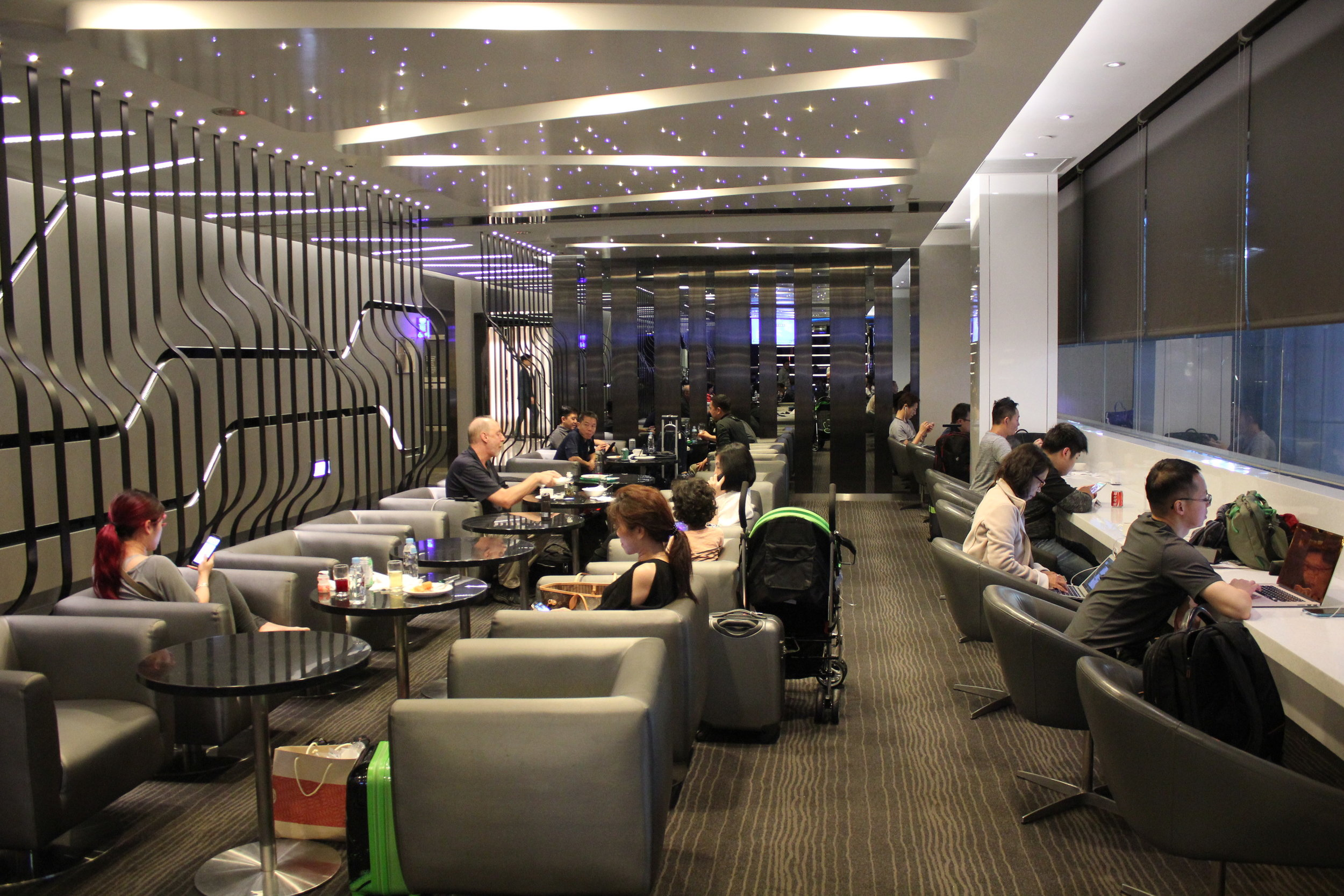 The Infinity Lounge by EVA Air – Seating area