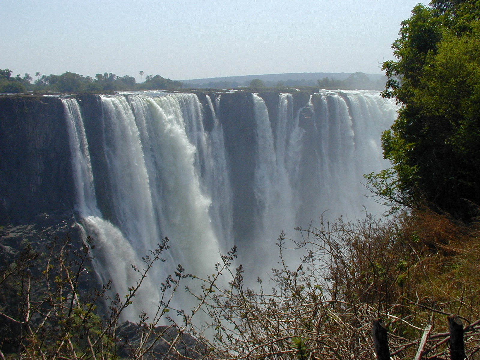 Victoria Falls – View from the Zambia side