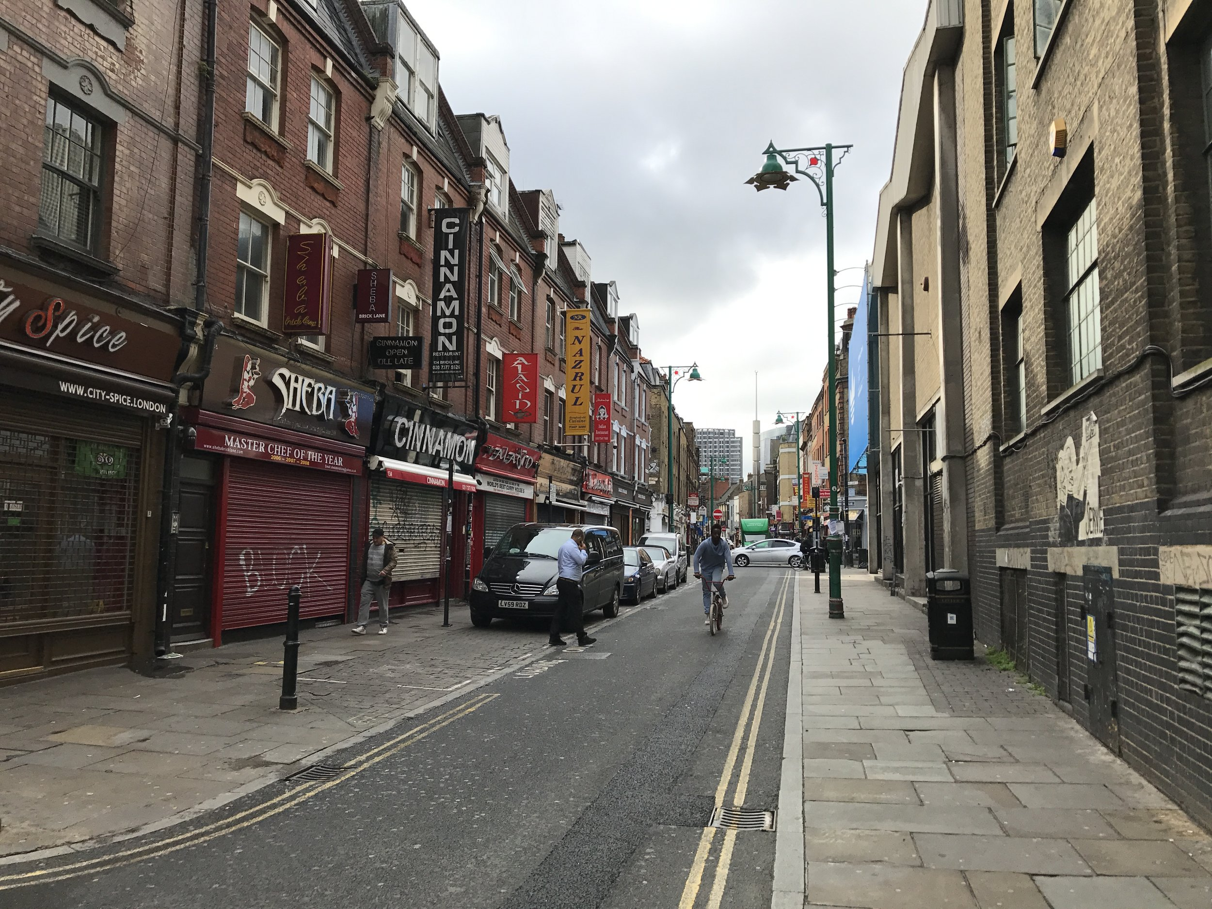 East London – Brick Lane