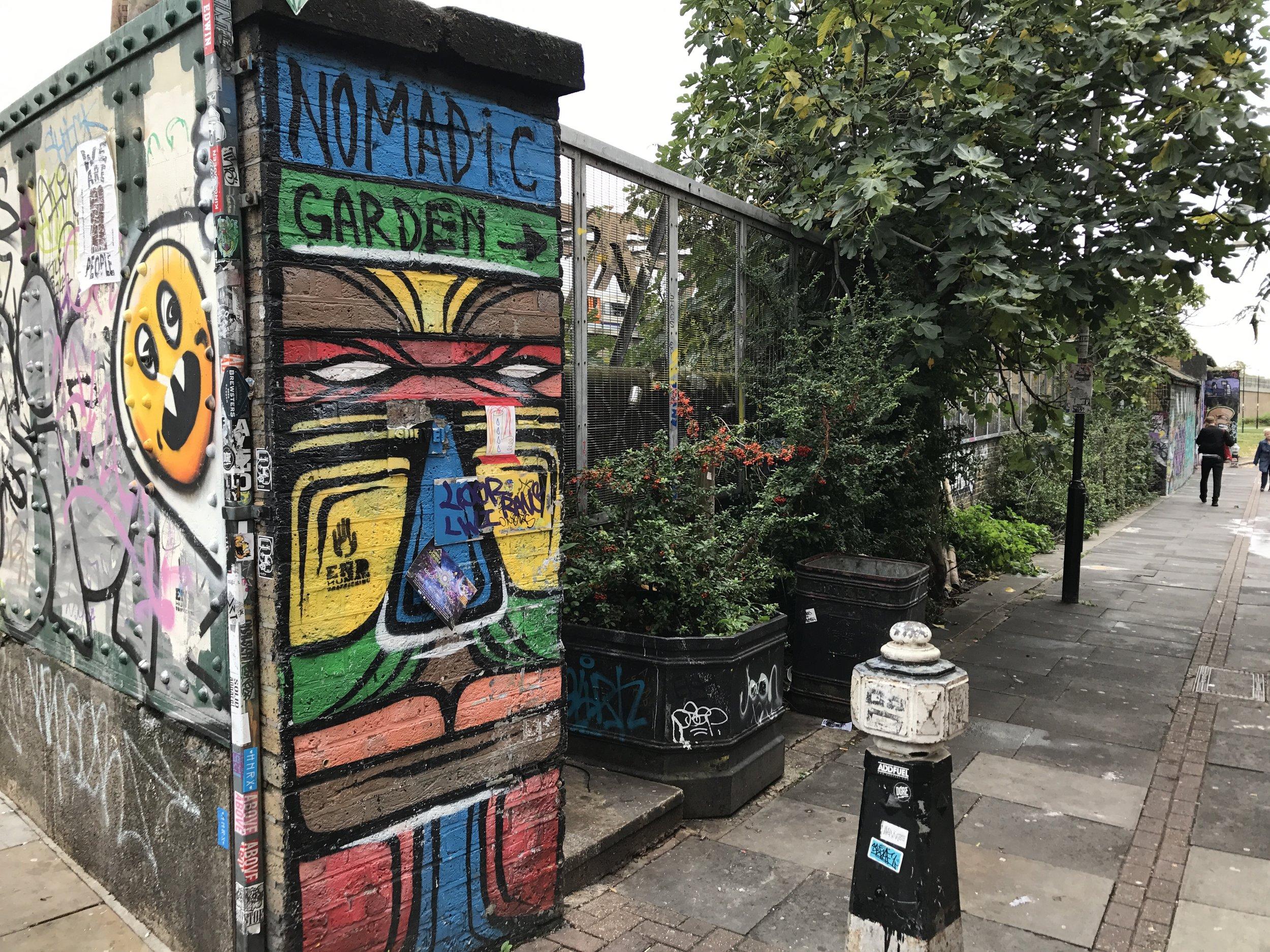 East London – Nomadic Community Garden