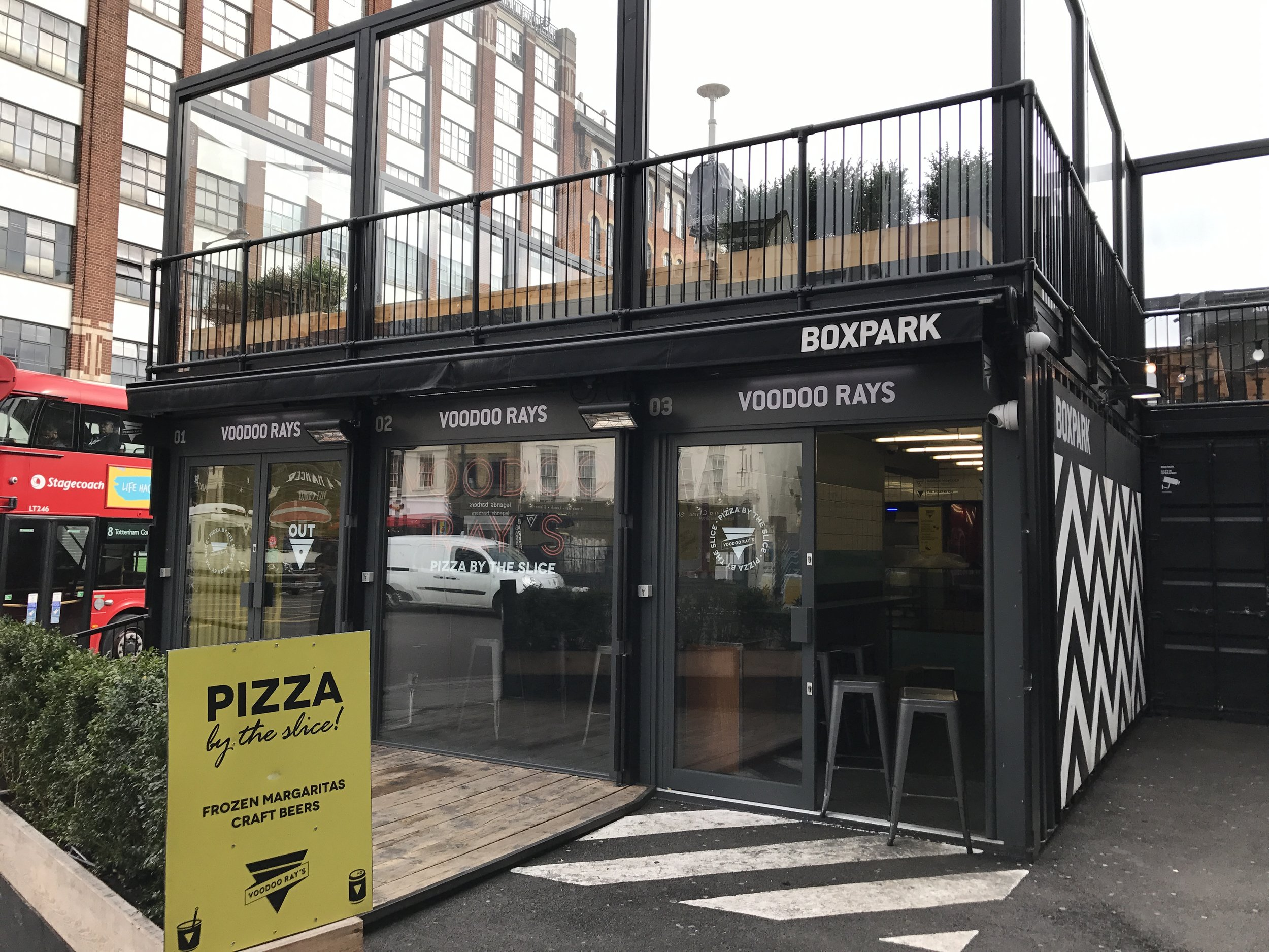 East London – Boxpark Shoreditch