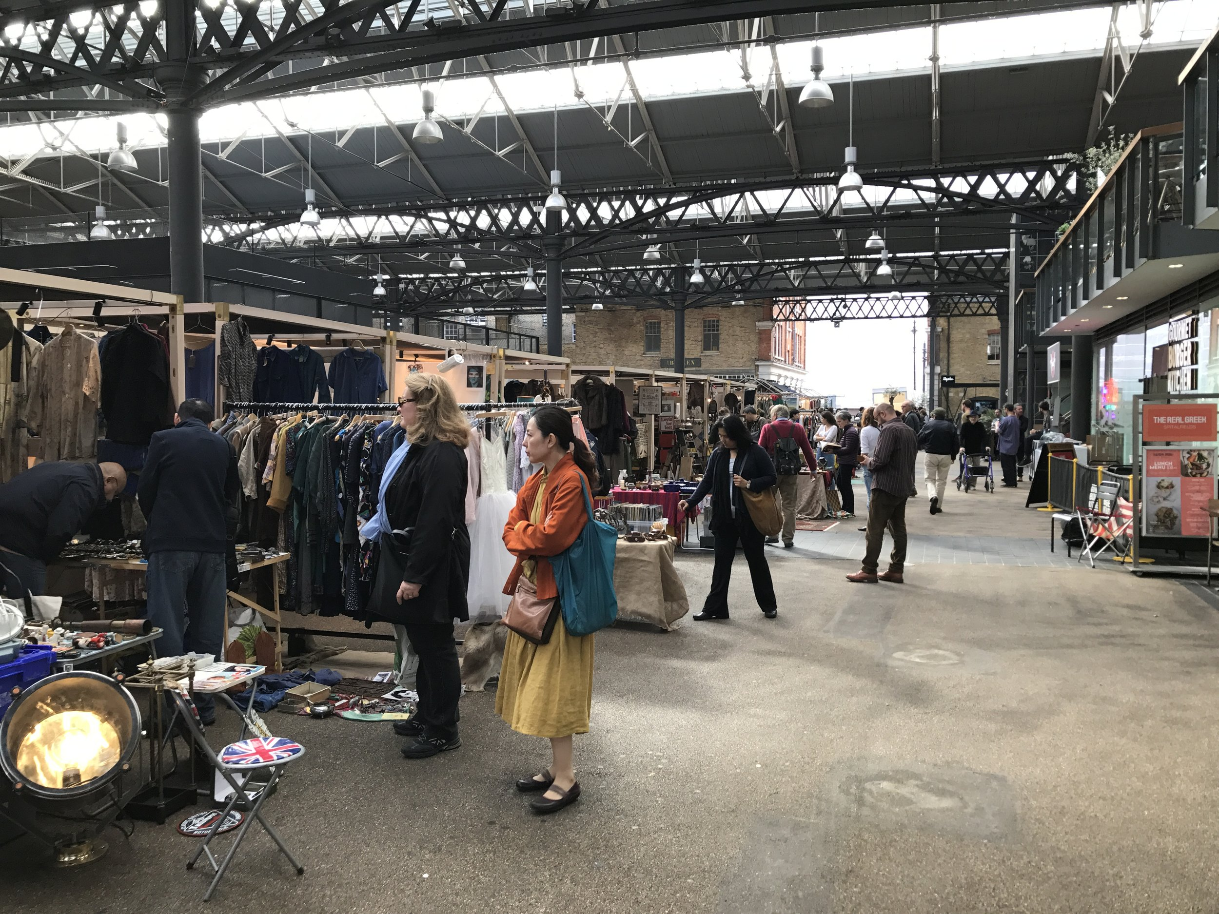 East London – Old Spitalfields Market