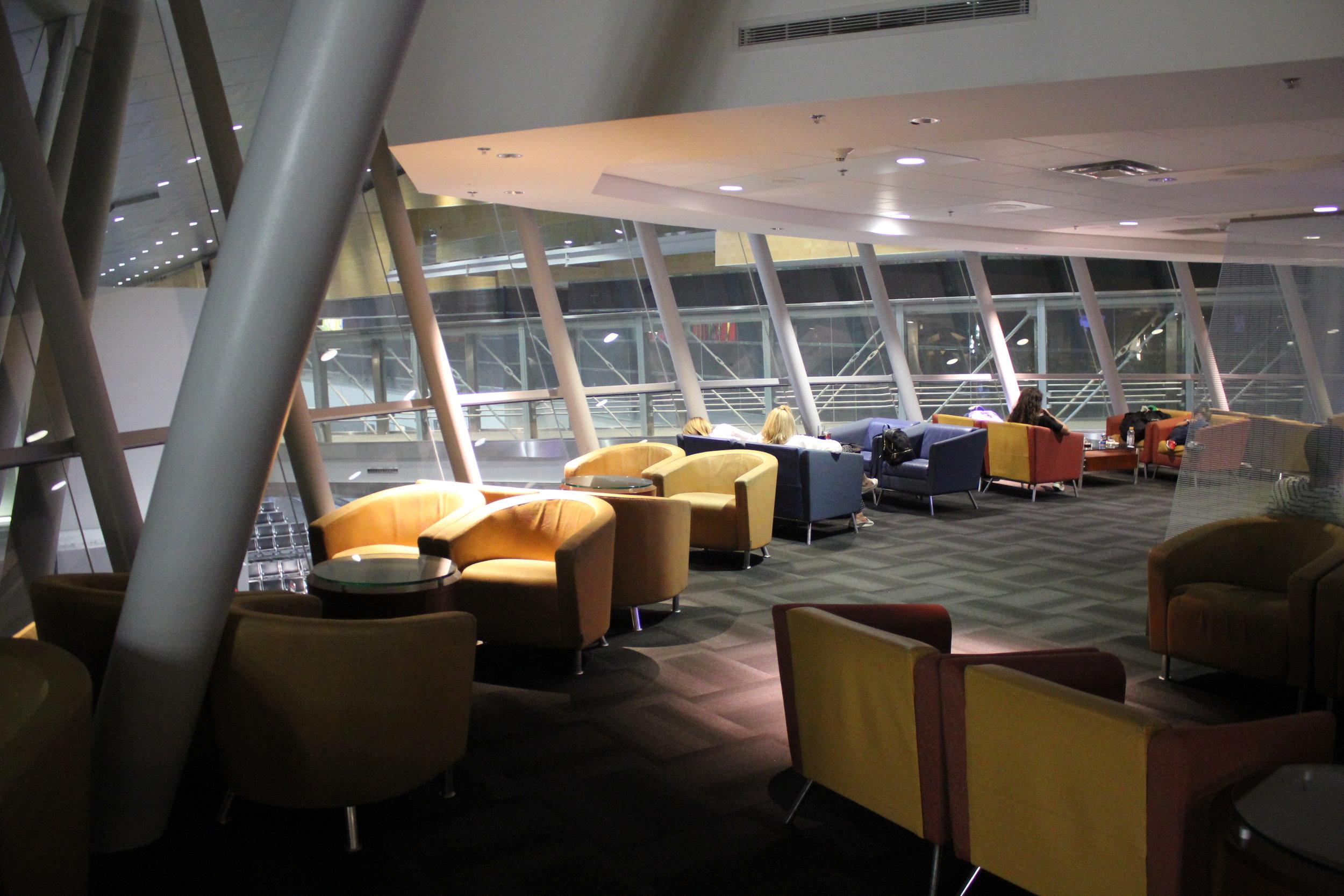 The excellent VIP Lounge Miami