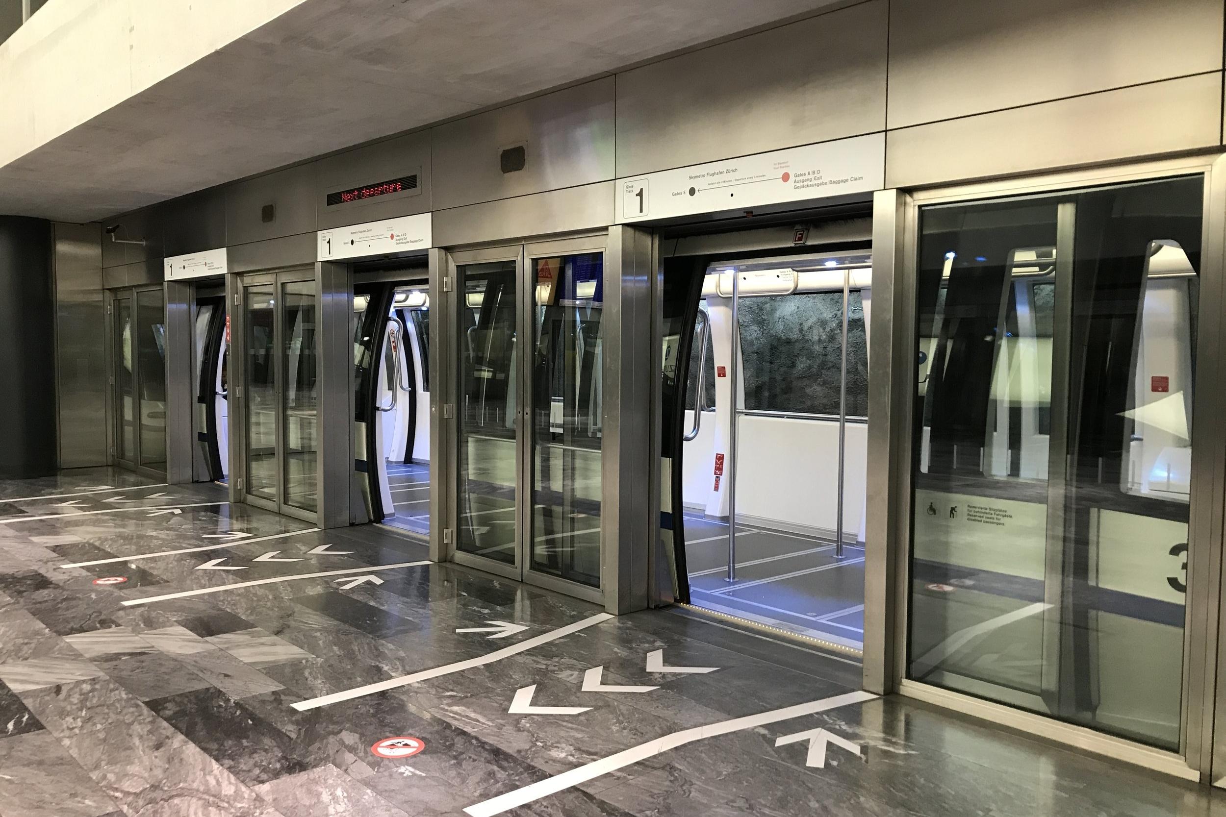 Zurich Airport – Train to Pier E