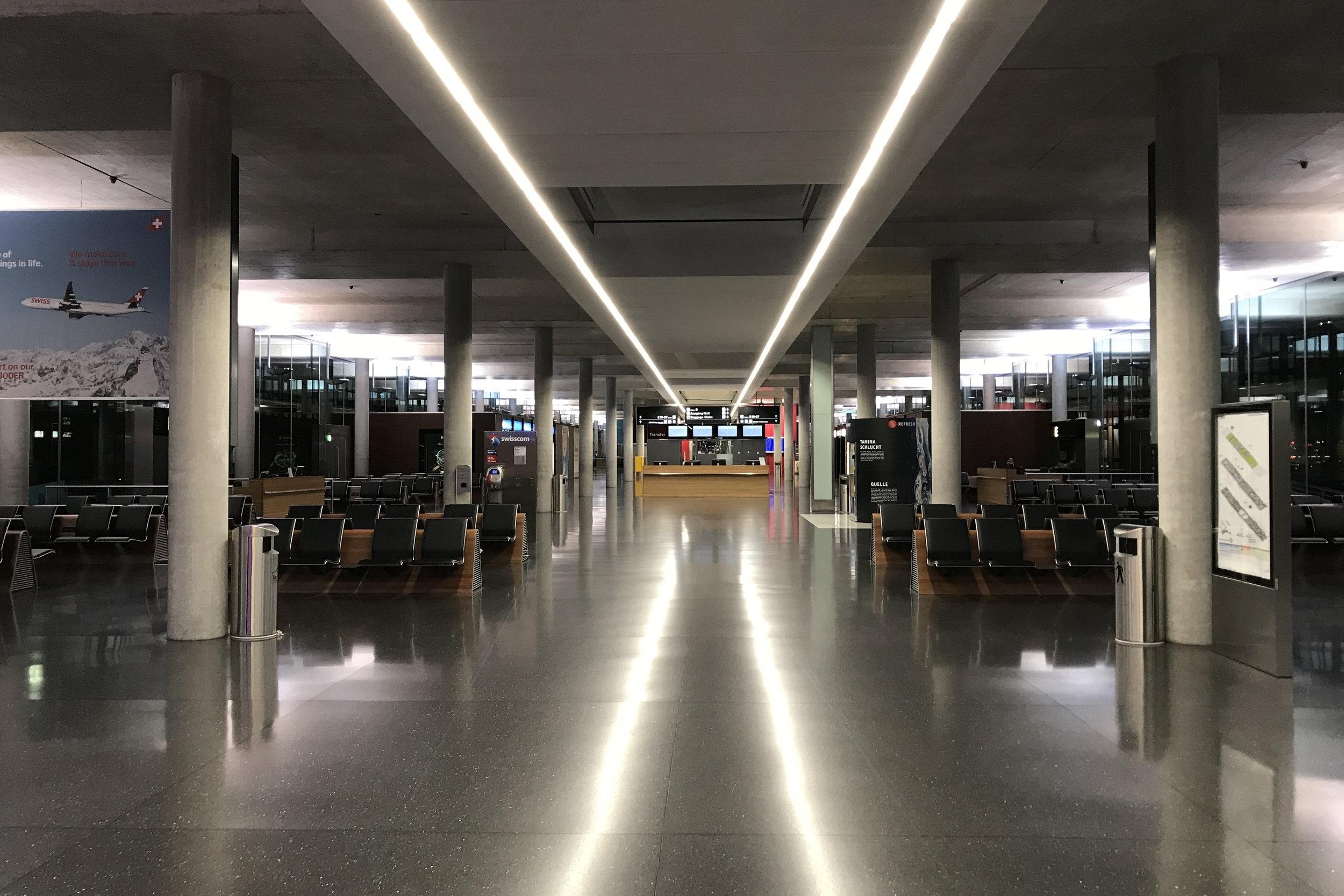 Zurich Airport – Pier E