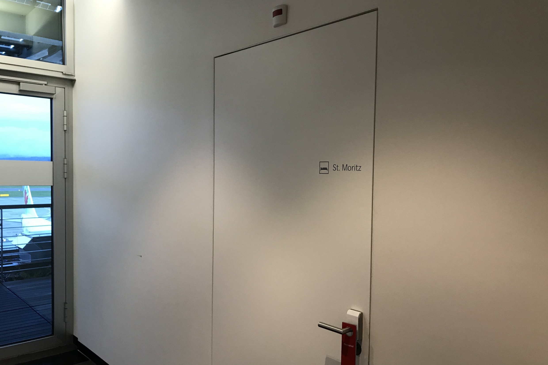 Swiss First Class Lounge Zurich – St. Moritz day room