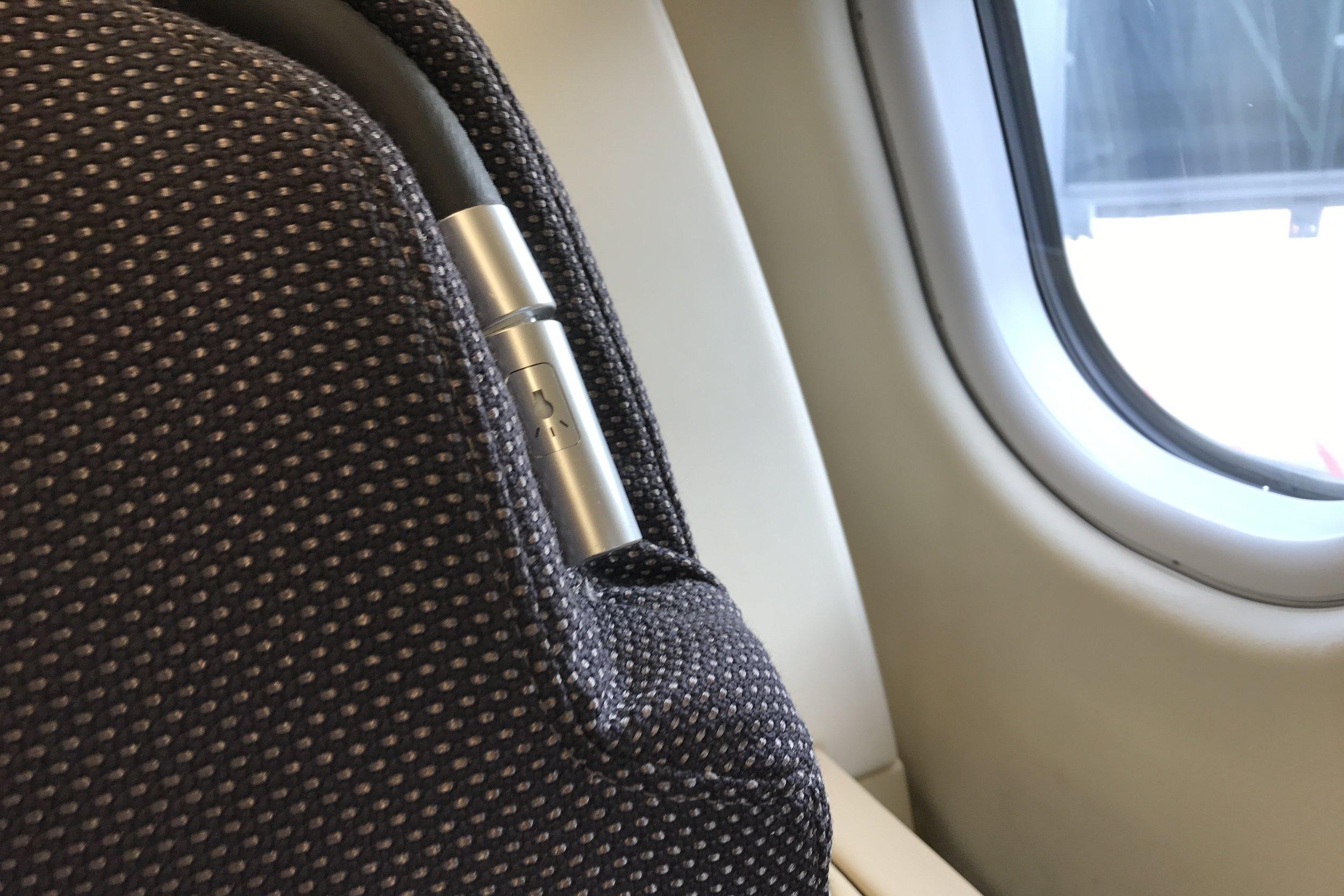 Lufthansa First Class – Reading light