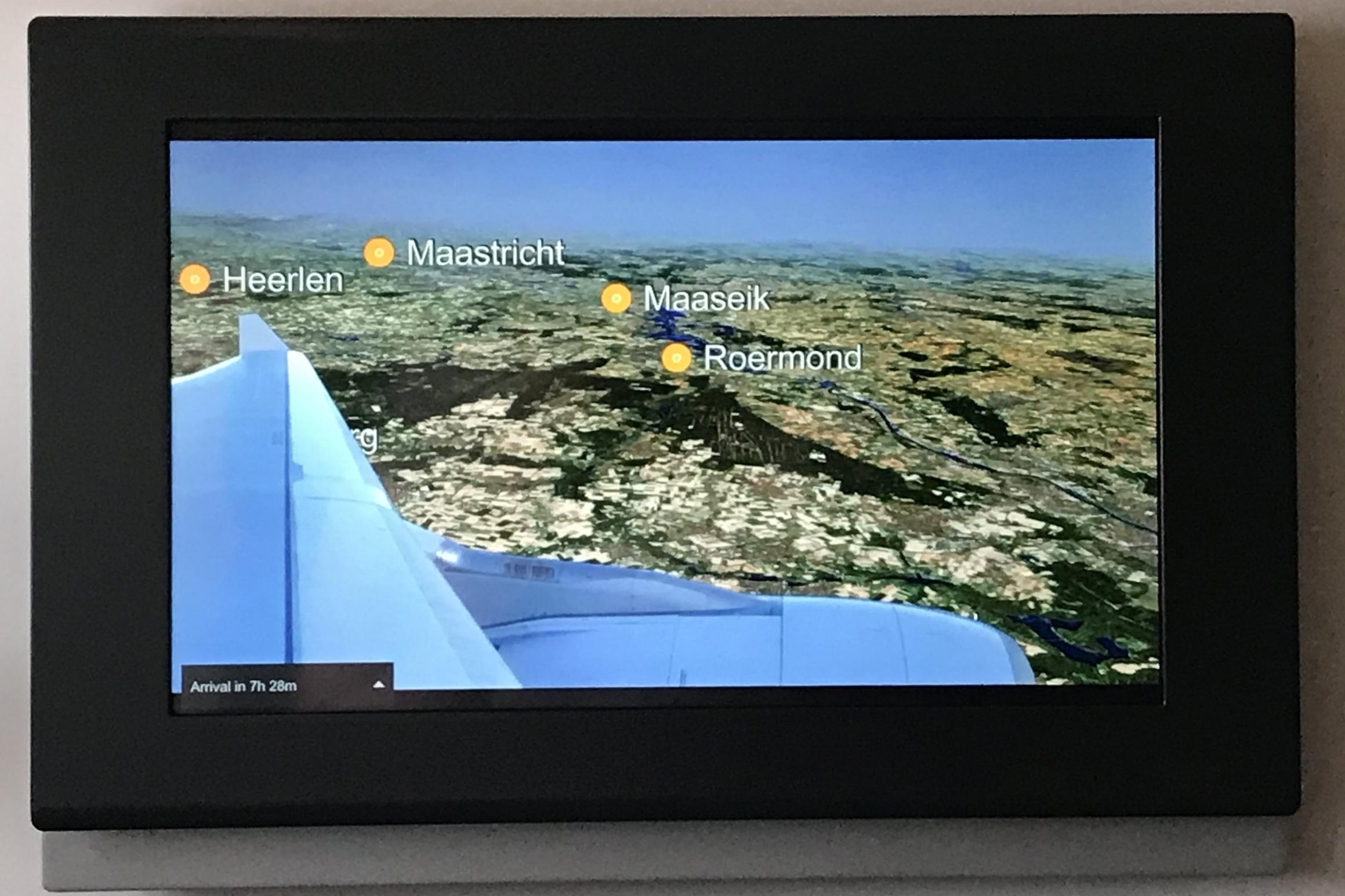 Lufthansa First Class – Airshow