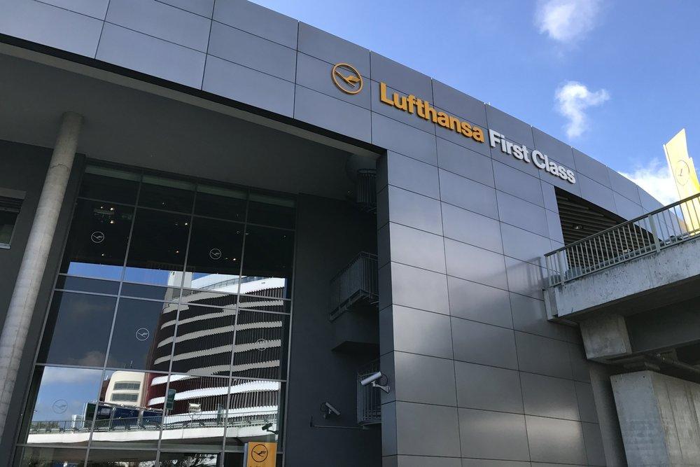 The standalone Lufthansa First Class Terminal