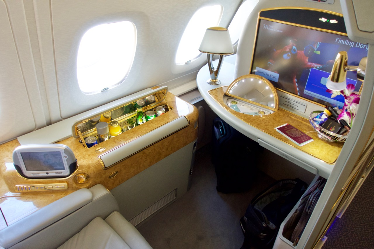 Emirates First Class, one of the world's best, can retail for $20,000+