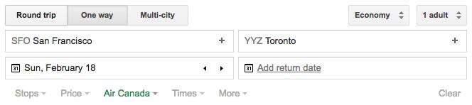 Google-Flights-SFO-YYZ