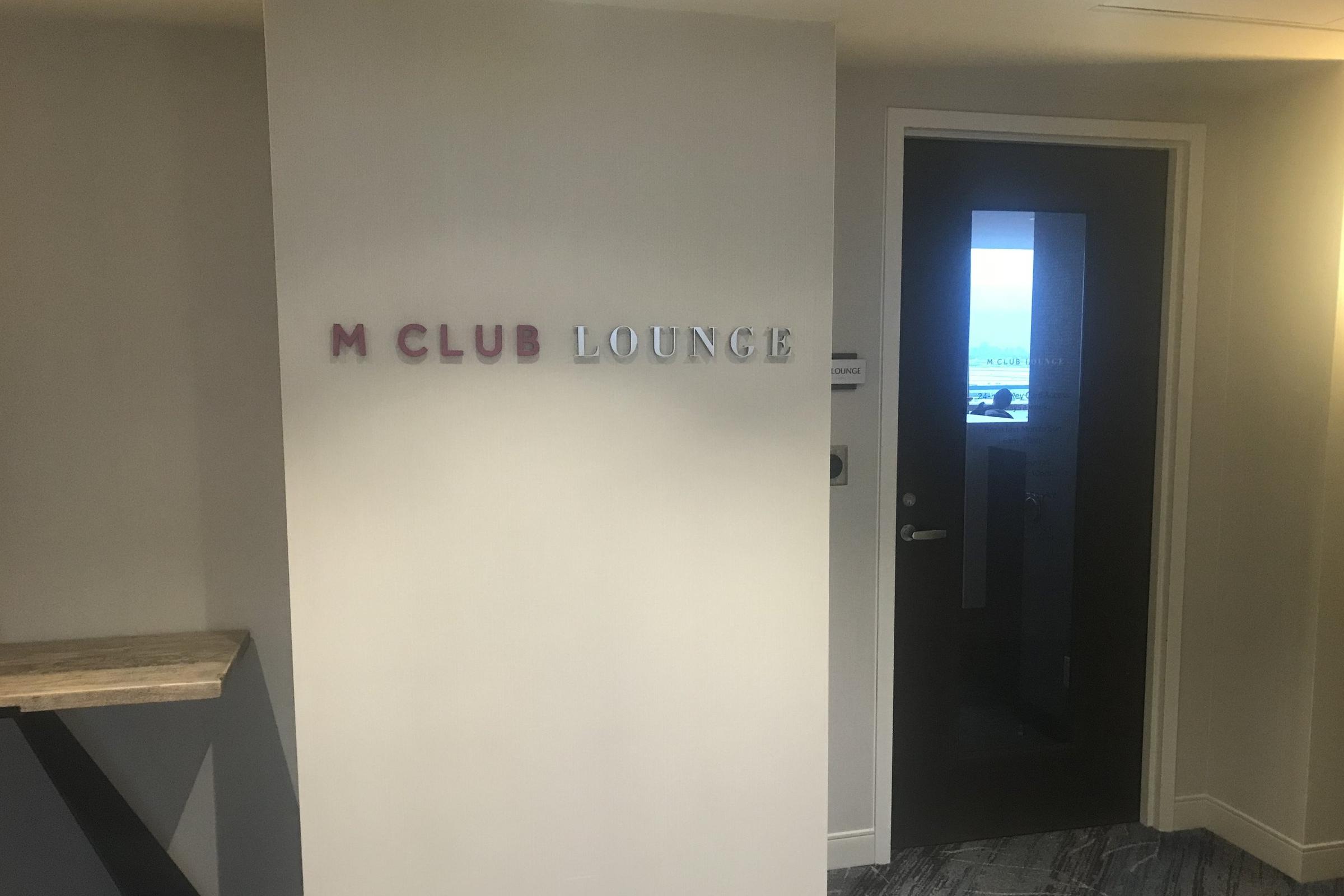 Marriott In-Terminal Hotel Calgary Airport – M Club