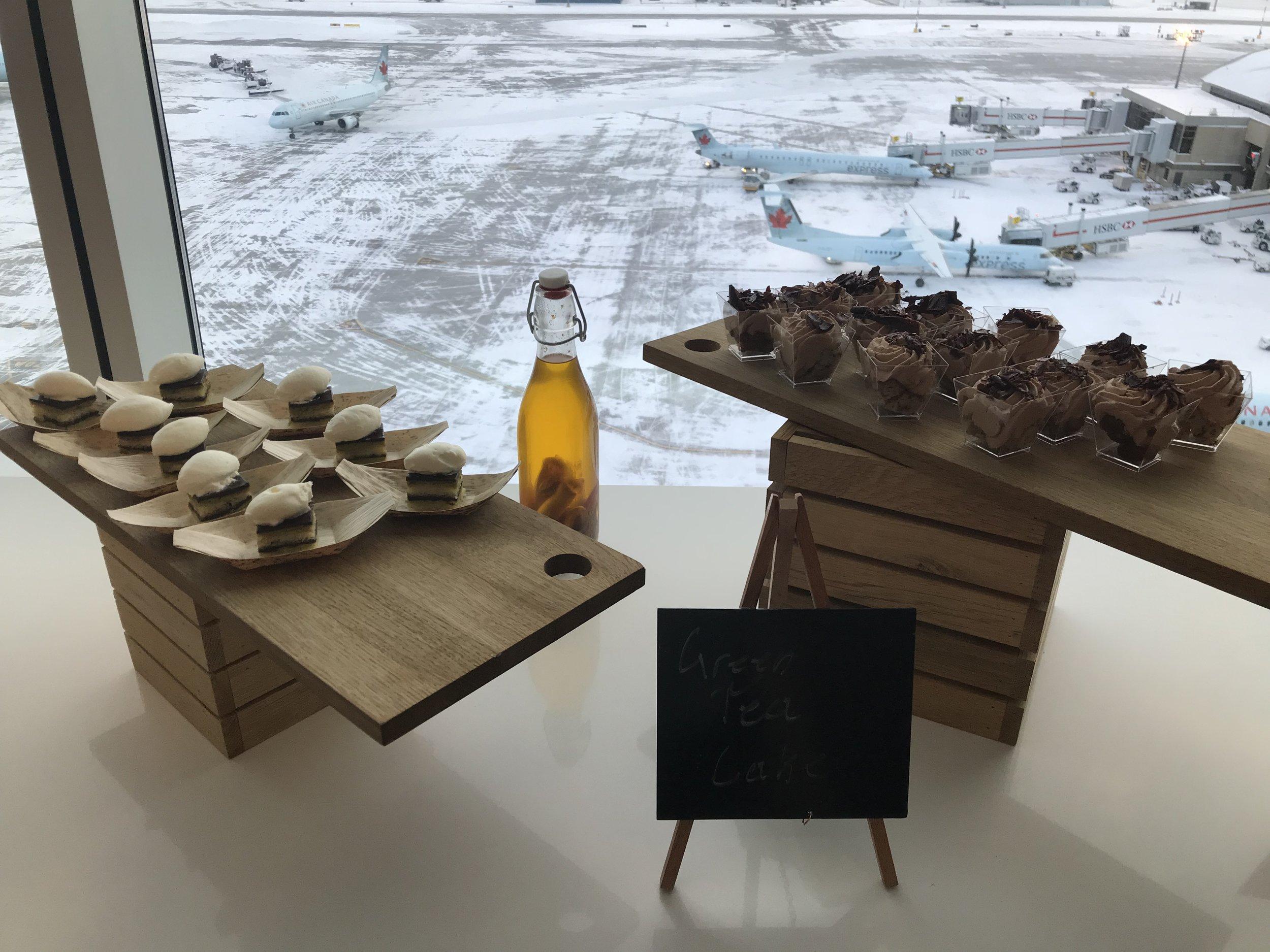 Marriott In-Terminal Hotel Calgary Airport – Evening spread