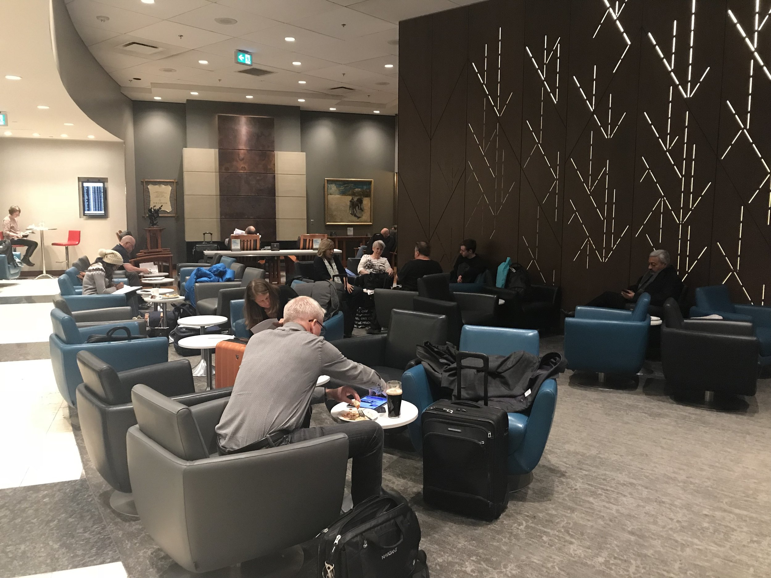 Air Canada Maple Leaf Lounge Calgary (6).jpg