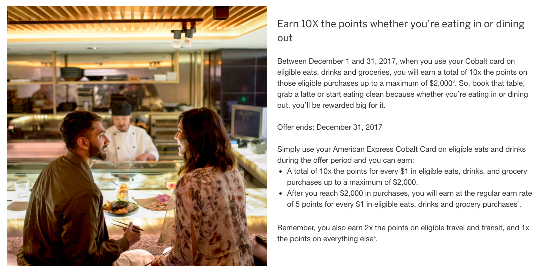 Cobalt 10x Points offer | Prince of Travel | Miles & Points