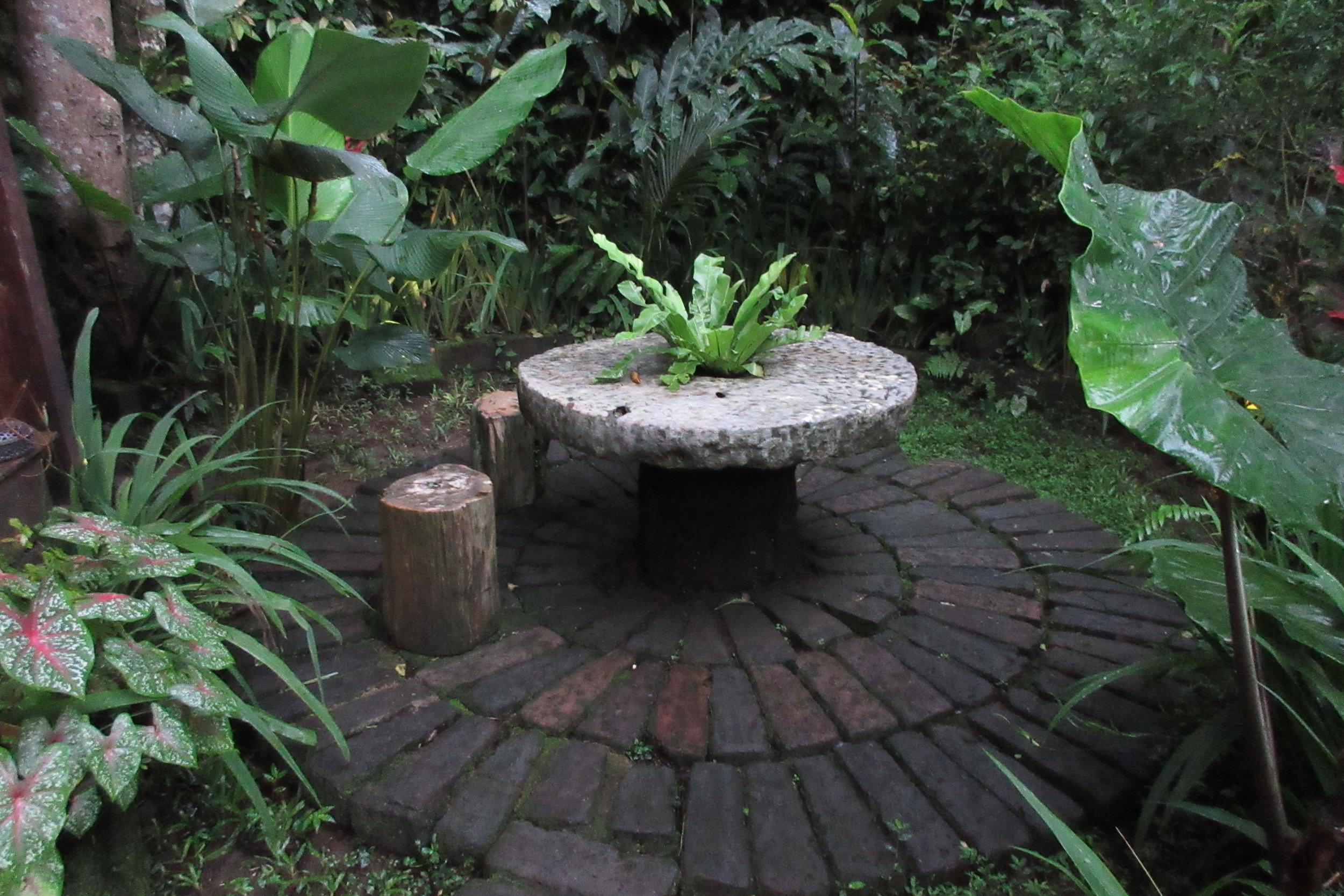 Bambu Indah Ubud – Outdoor seating