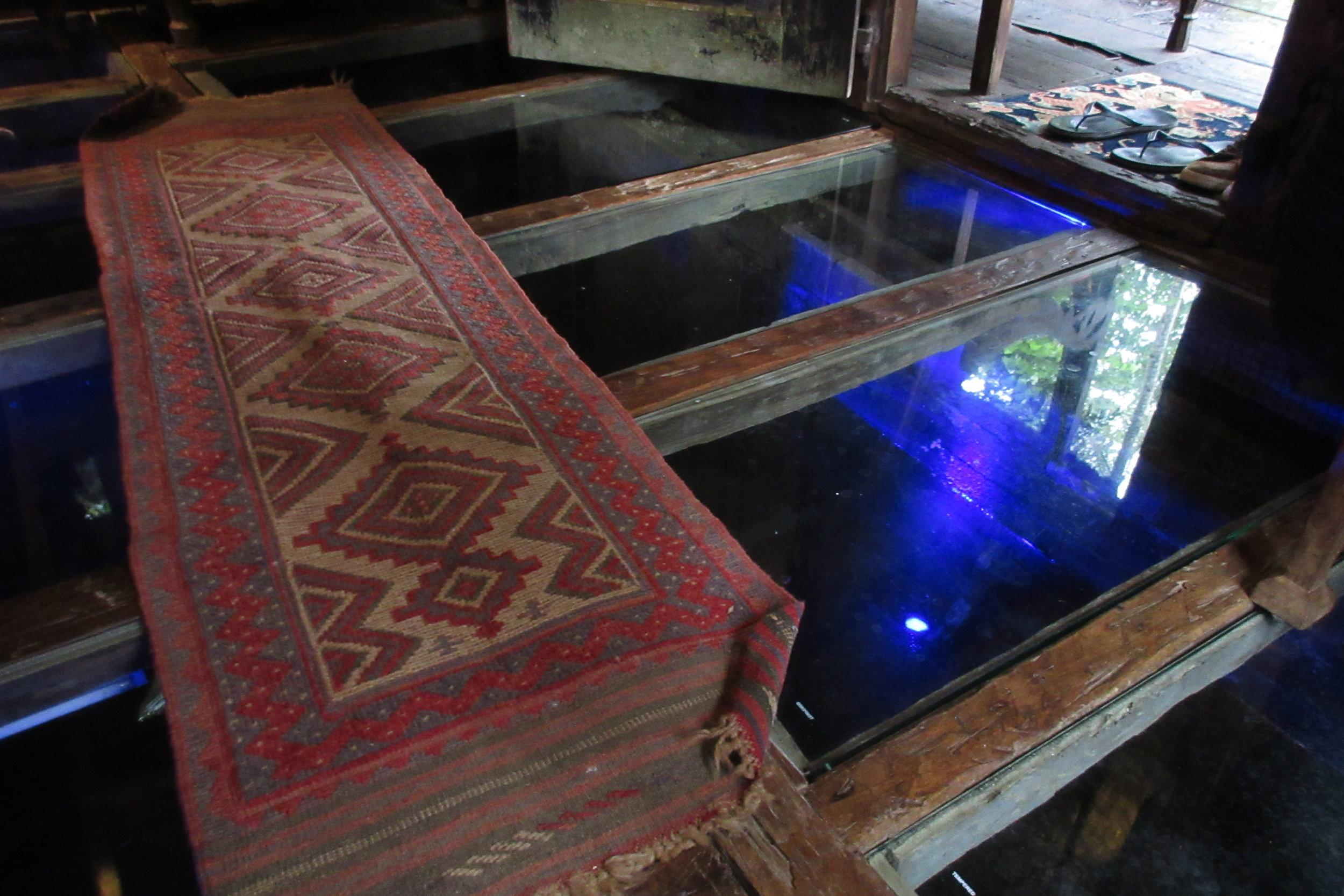 Bambu Indah Ubud – Udang House glass floor