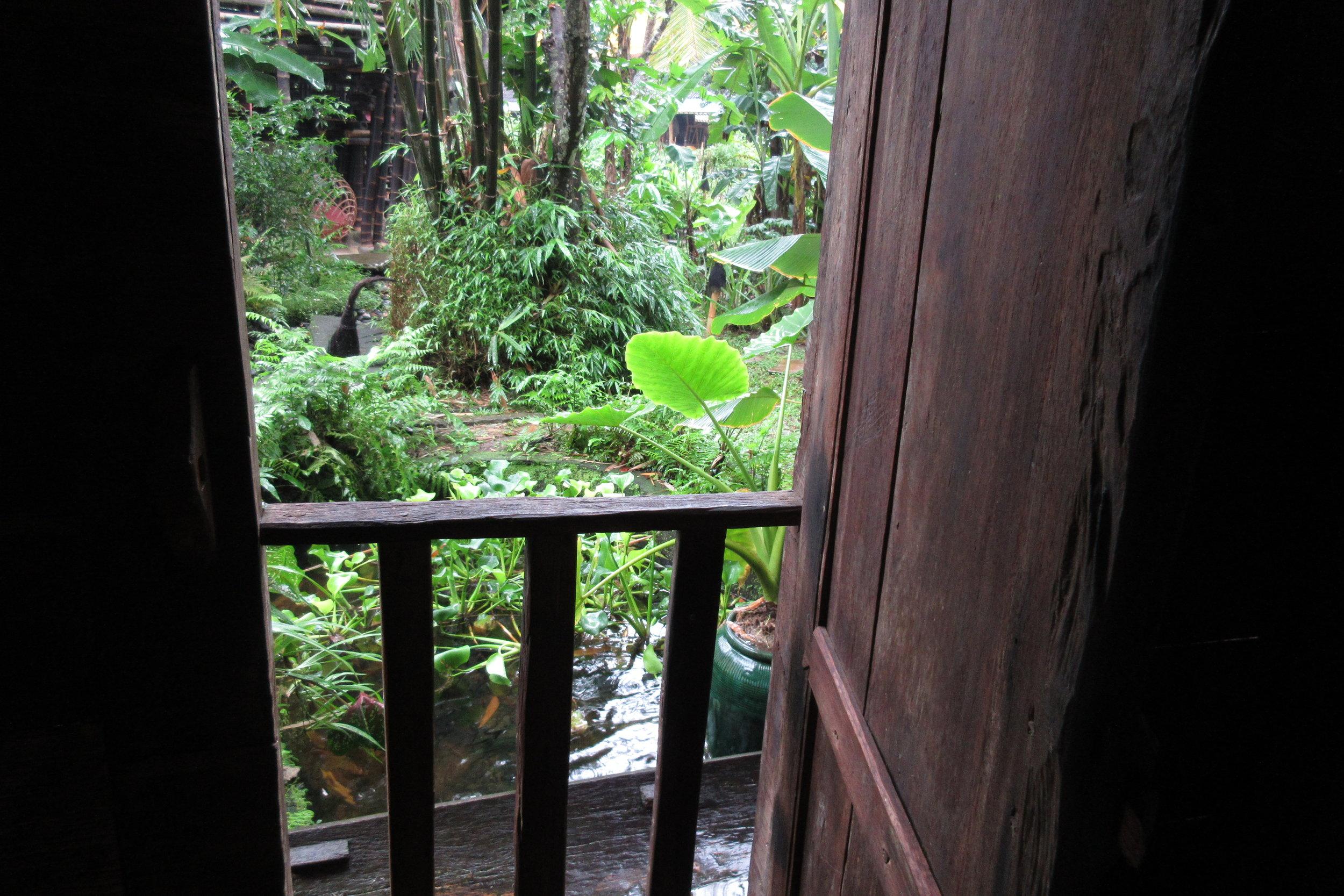 Bambu Indah Ubud – Udang House balcony