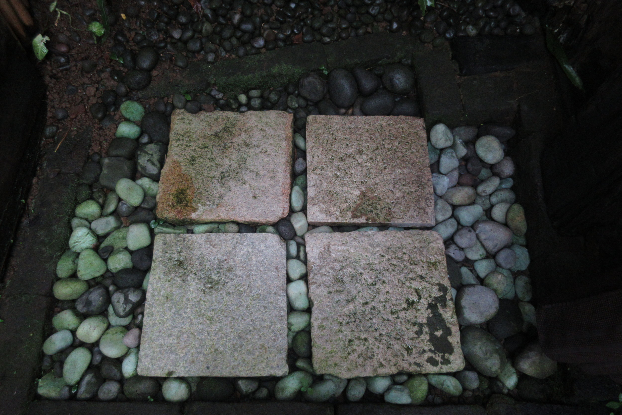 Bambu Indah Ubud – Udang House shower floor
